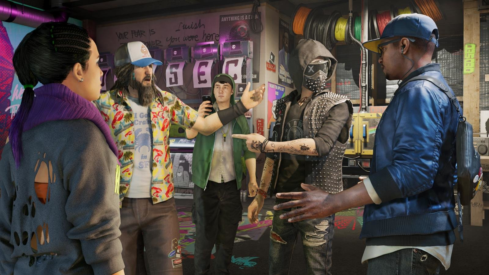 Free Watch Dogs 2 High Quality Wallpaper Id366064 For Hd 1600x900