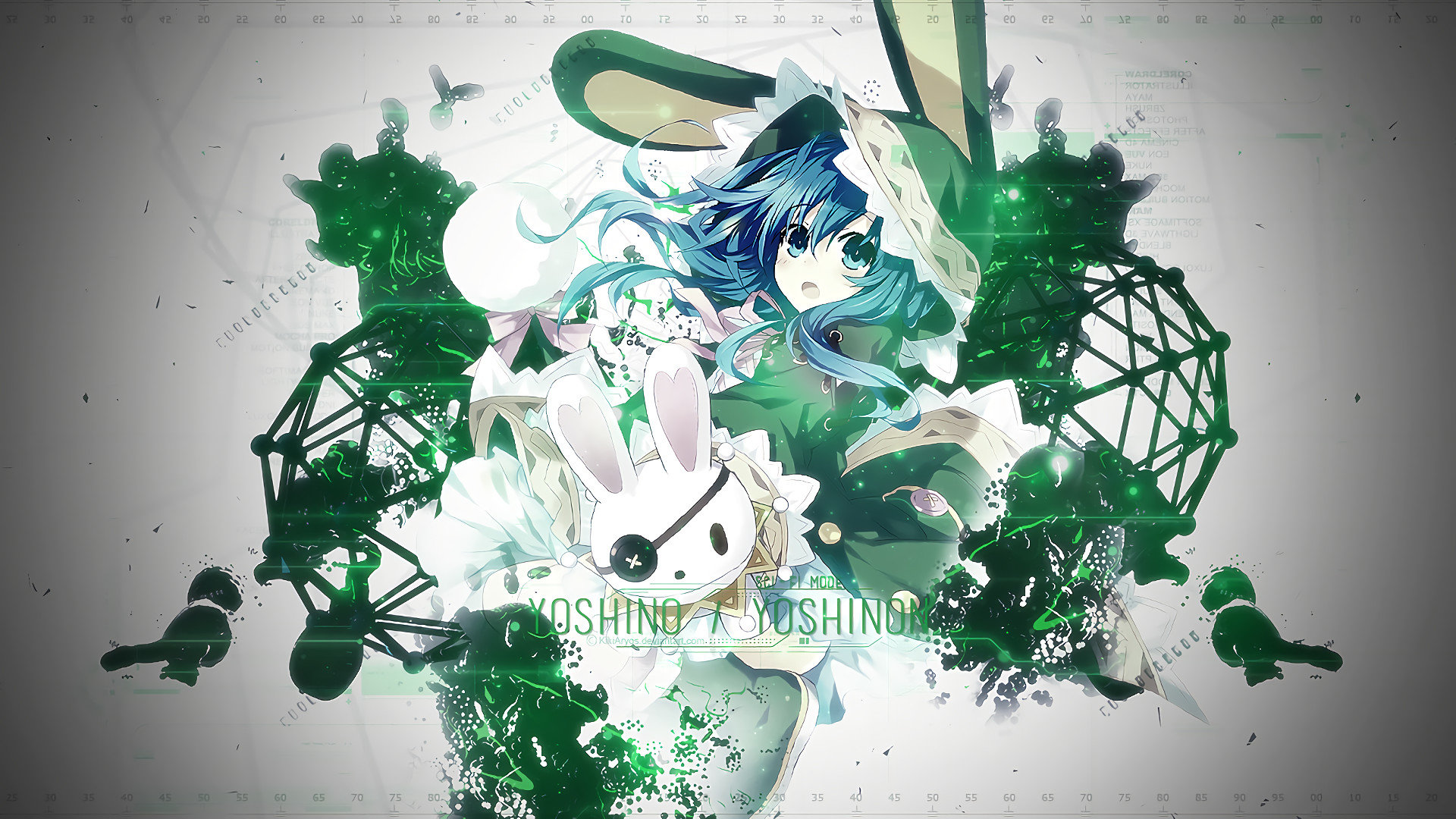 Download full hd Yoshino (Date A Live) desktop wallpaper ID:463745 for free
