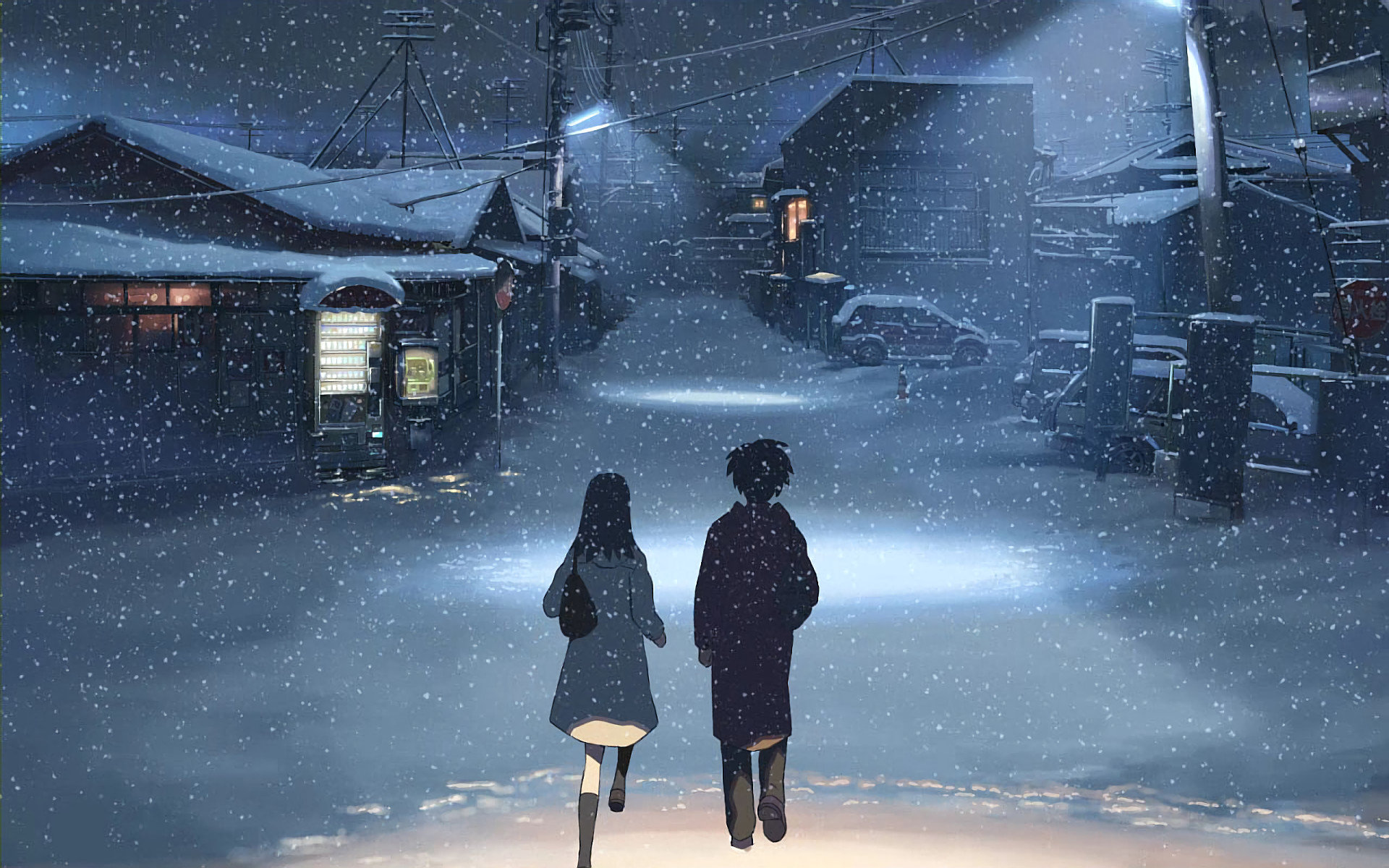 Free download 5 (cm) Centimeters Per Second background ID:90106 hd 1920x1200 for PC