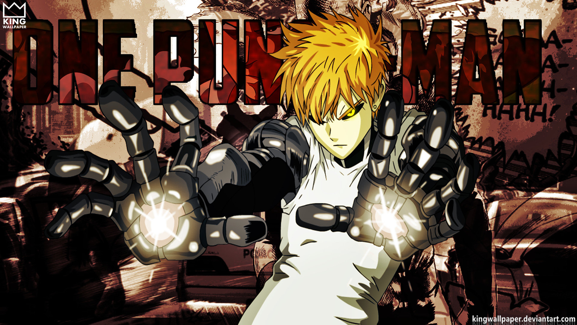 Free Genos (One-Punch Man) high quality background ID:345443 for full hd computer