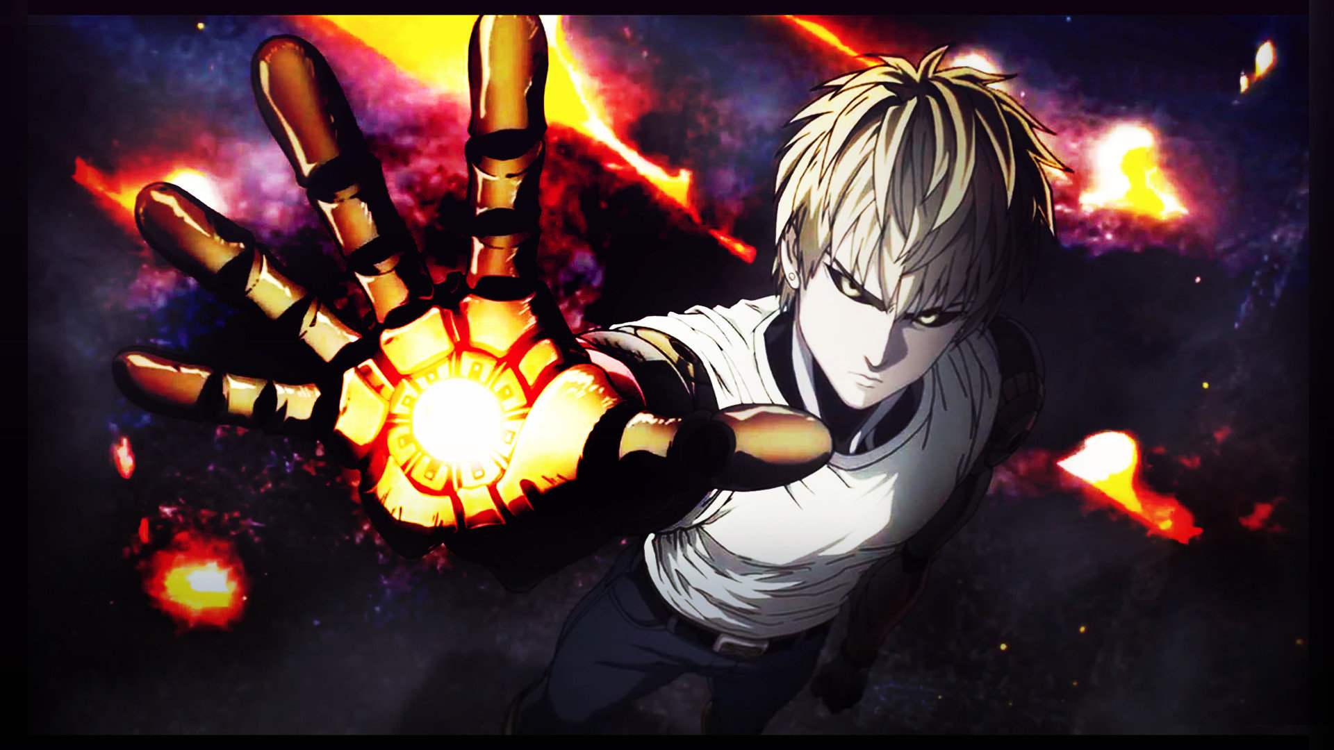 High resolution Genos (One-Punch Man) full hd wallpaper ID:345497 for computer