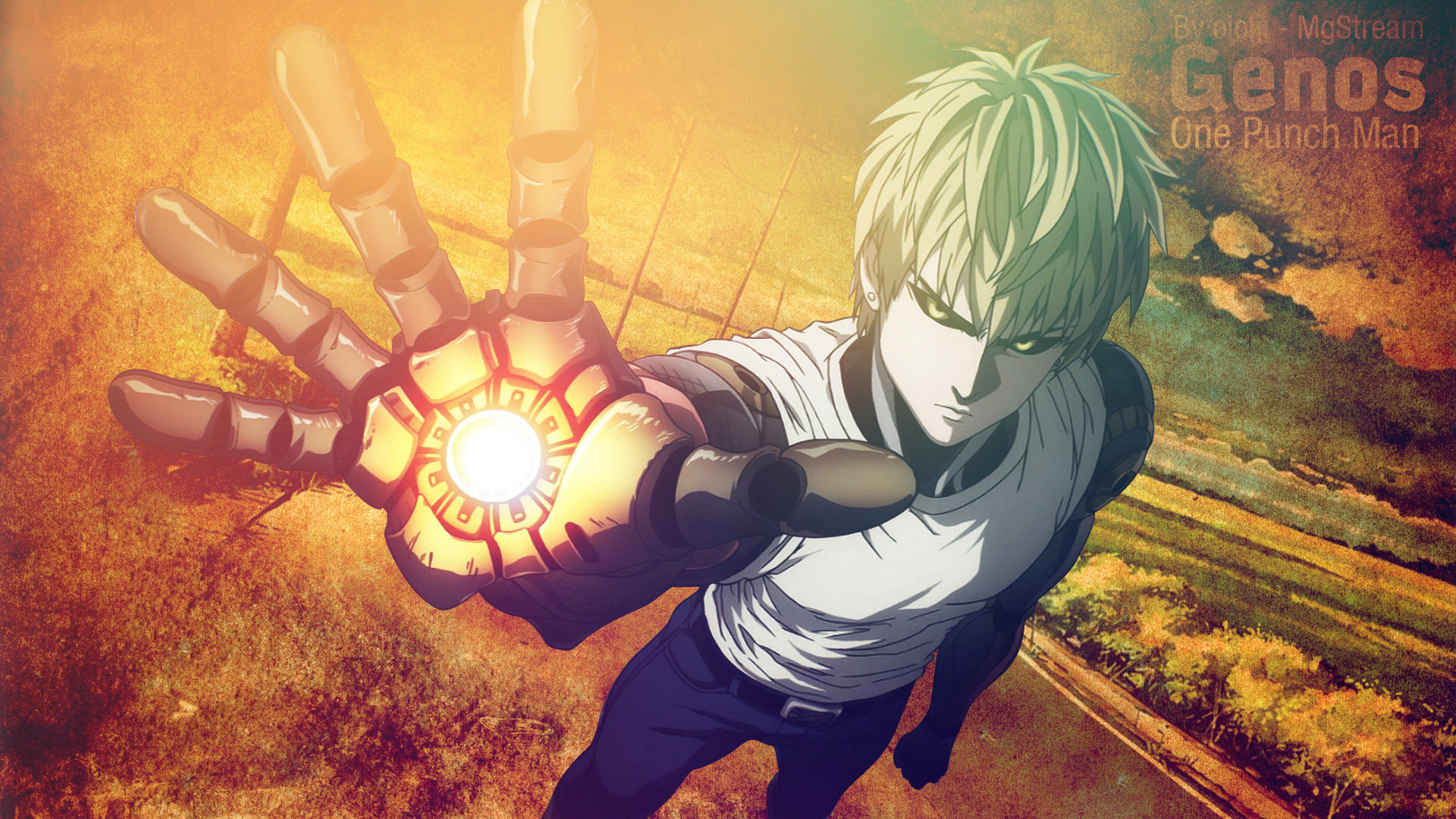 Download hd 1080p Genos (One-Punch Man) computer wallpaper ID:345435 for free