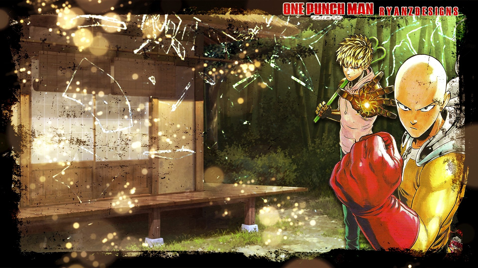 Free One-Punch Man high quality background ID:345444 for hd 1080p PC
