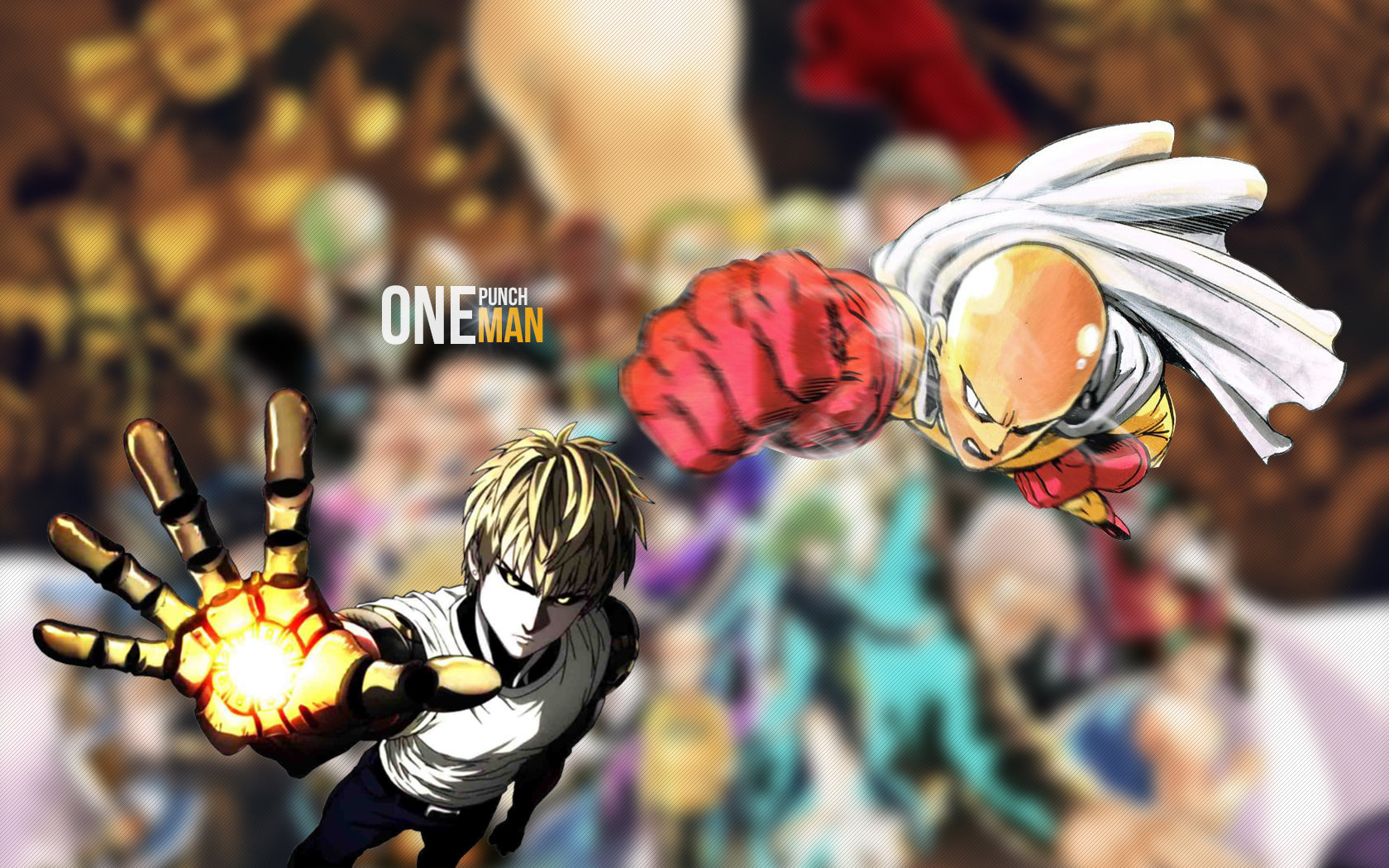 High resolution One-Punch Man hd 1680x1050 wallpaper ID:345439 for desktop