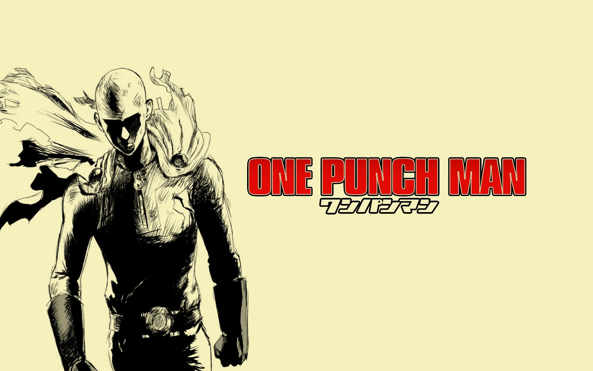 High resolution Saitama (One-Punch Man) hd 1920x1200 background ID:345431 for computer