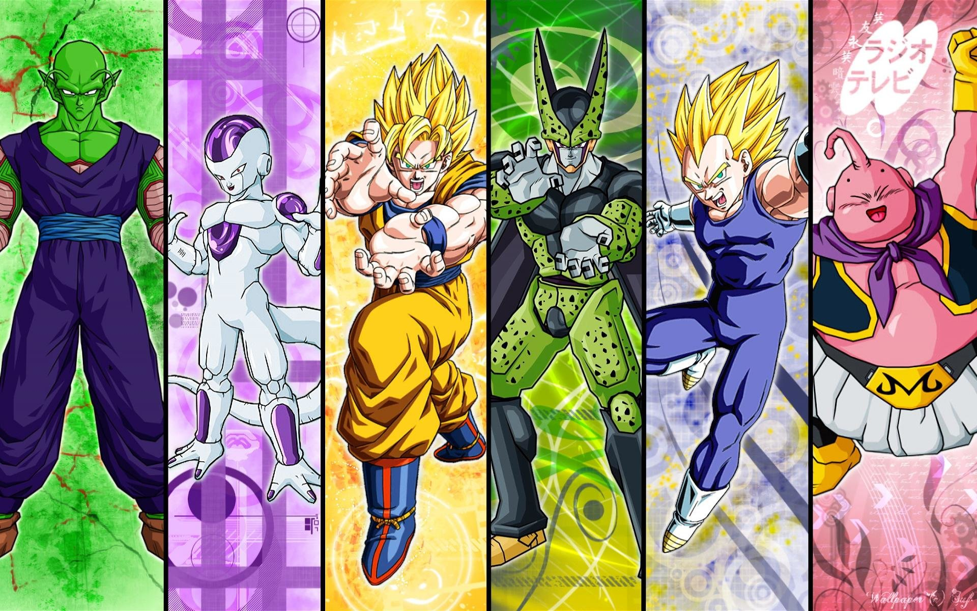 Download hd 1920x1200 Dragon Ball Z (DBZ) PC background ID:462313 for free