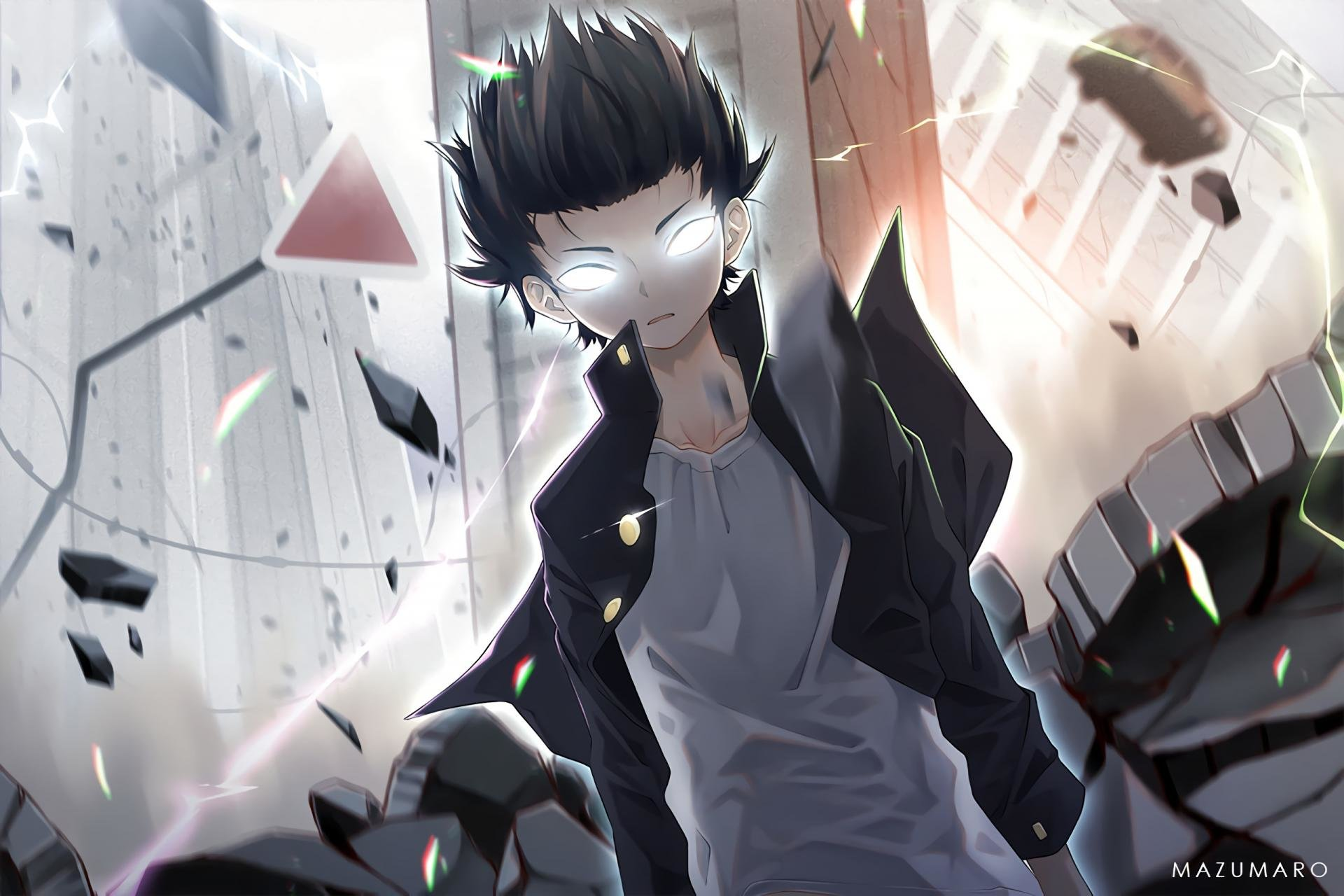 High resolution Mob Psycho 100 hd 1920x1280 background ID:328988 for desktop