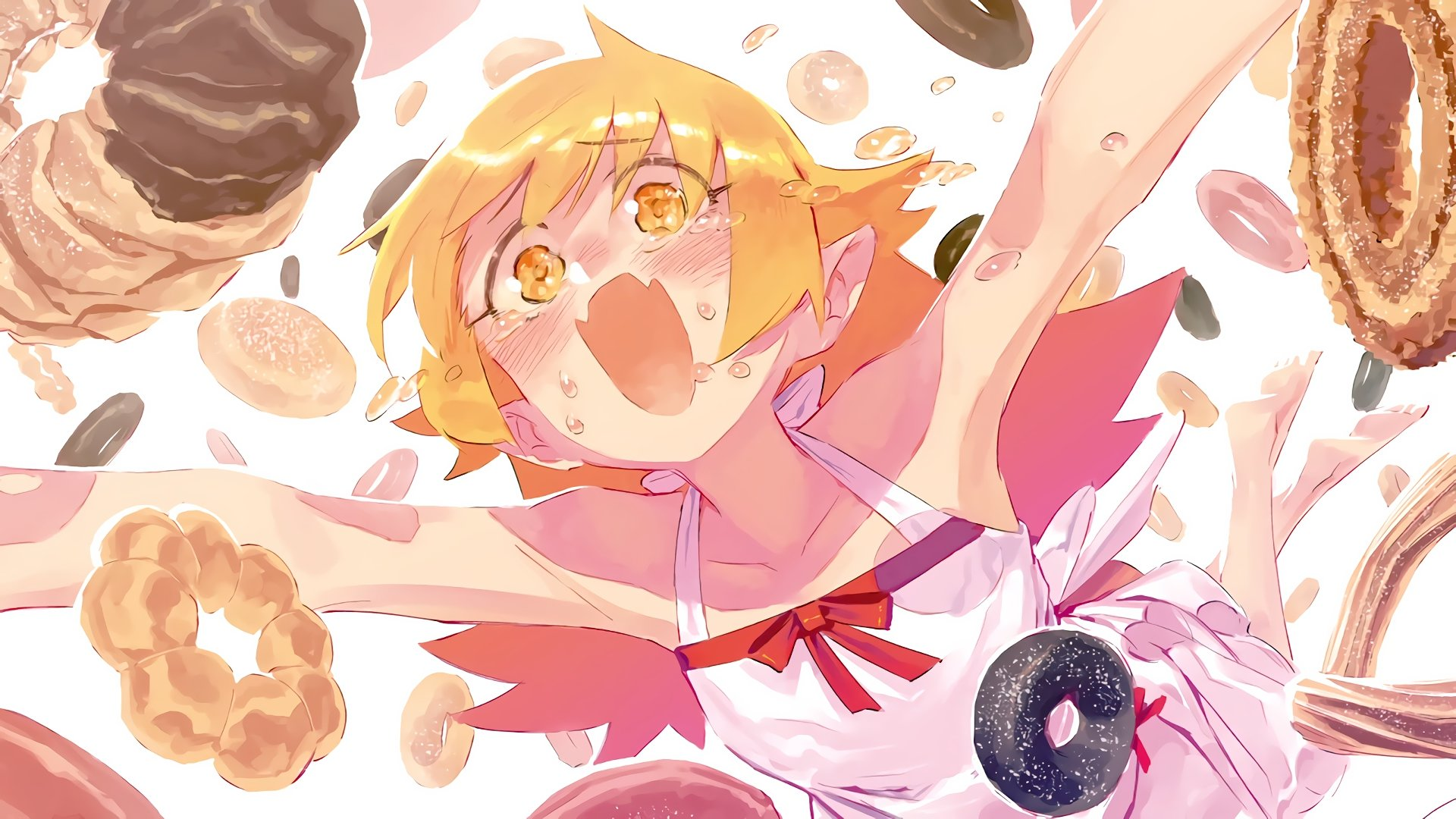 Free download Shinobu Oshino background ID:108812 full hd 1920x1080 for PC