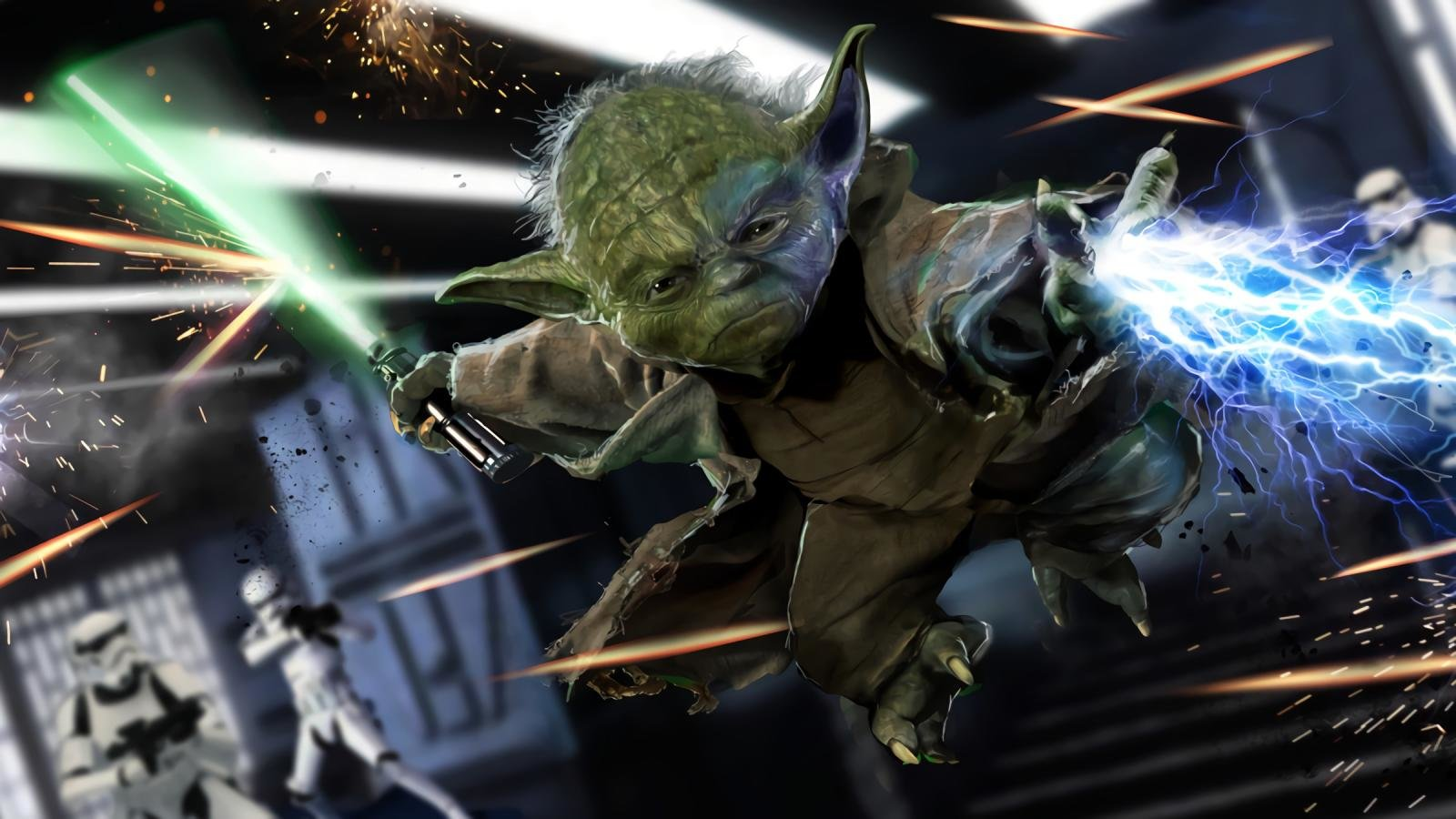 Free download Yoda wallpaper ID:458859 hd 1600x900 for desktop