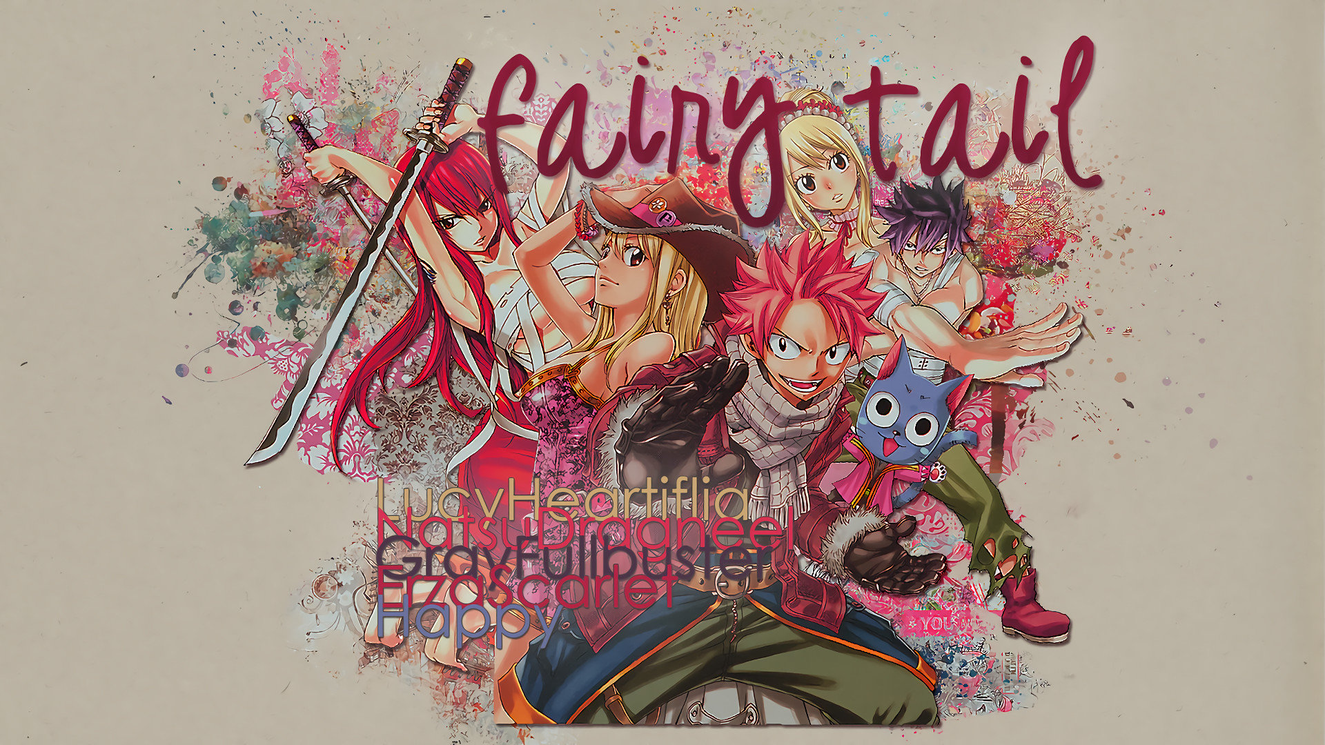 High resolution Fairy Tail hd 1080p background ID:41521 for desktop