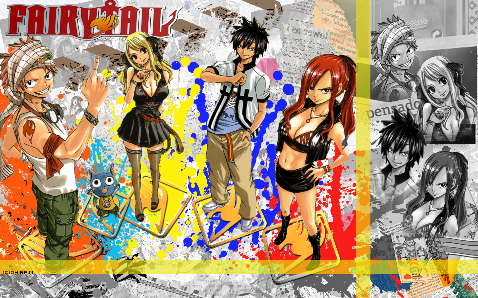 High resolution Fairy Tail hd 1920x1200 background ID:41379 for PC