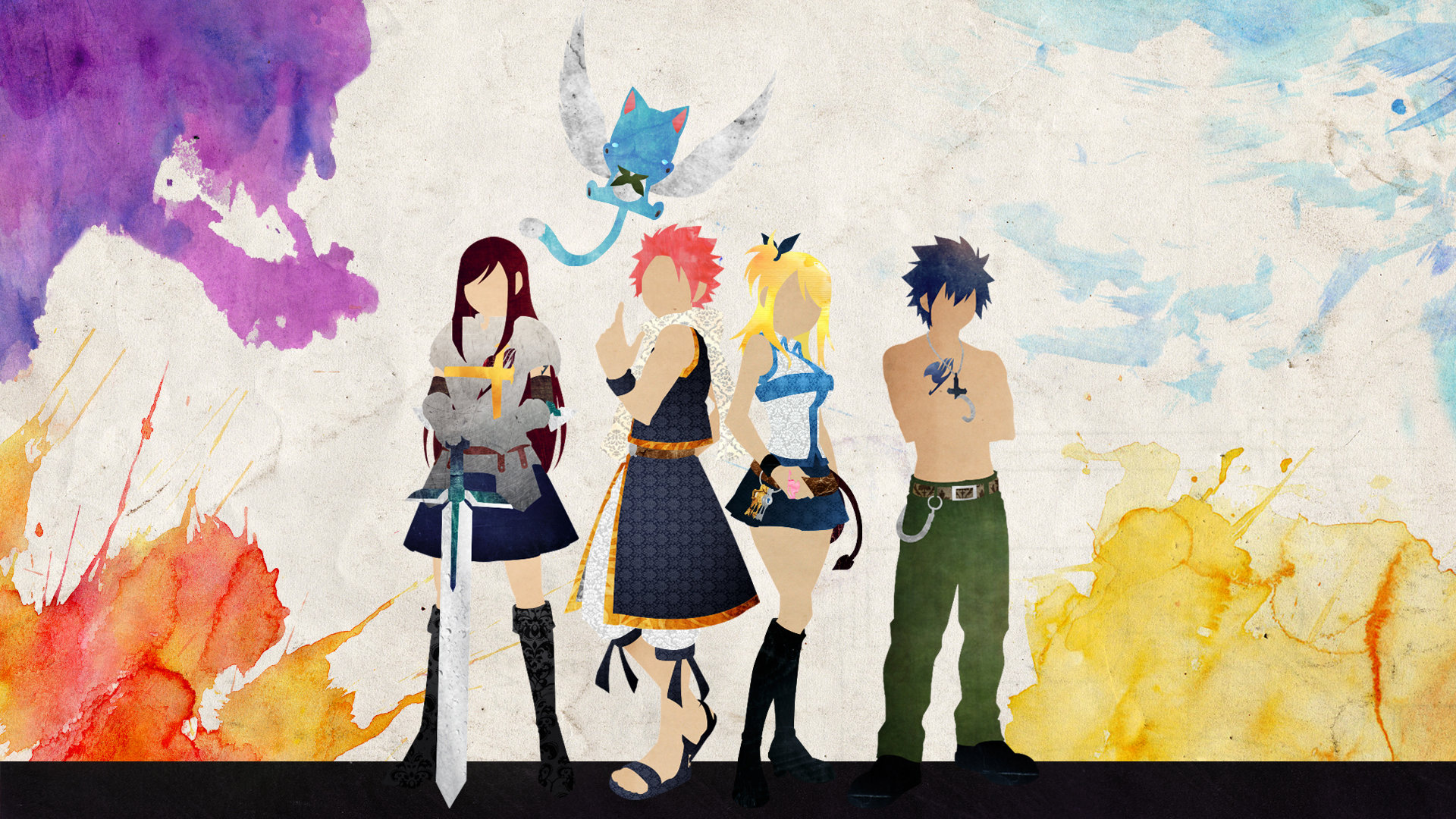 Best Fairy Tail wallpaper ID:41382 for High Resolution full hd 1080p desktop