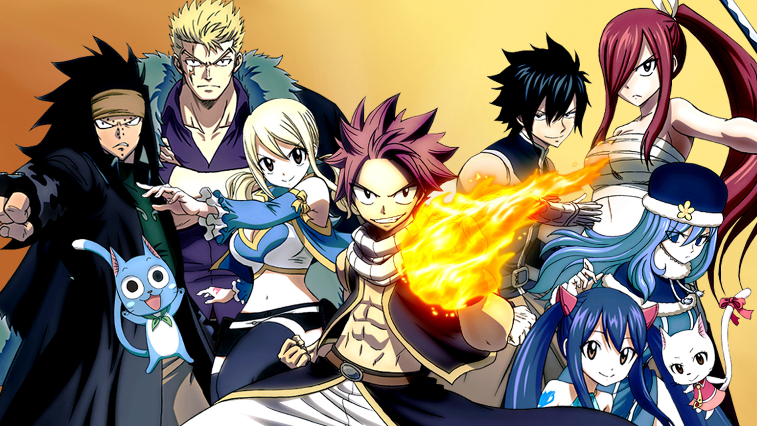 Best Fairy Tail wallpaper ID:41258 for High Resolution hd 2560x1440 desktop