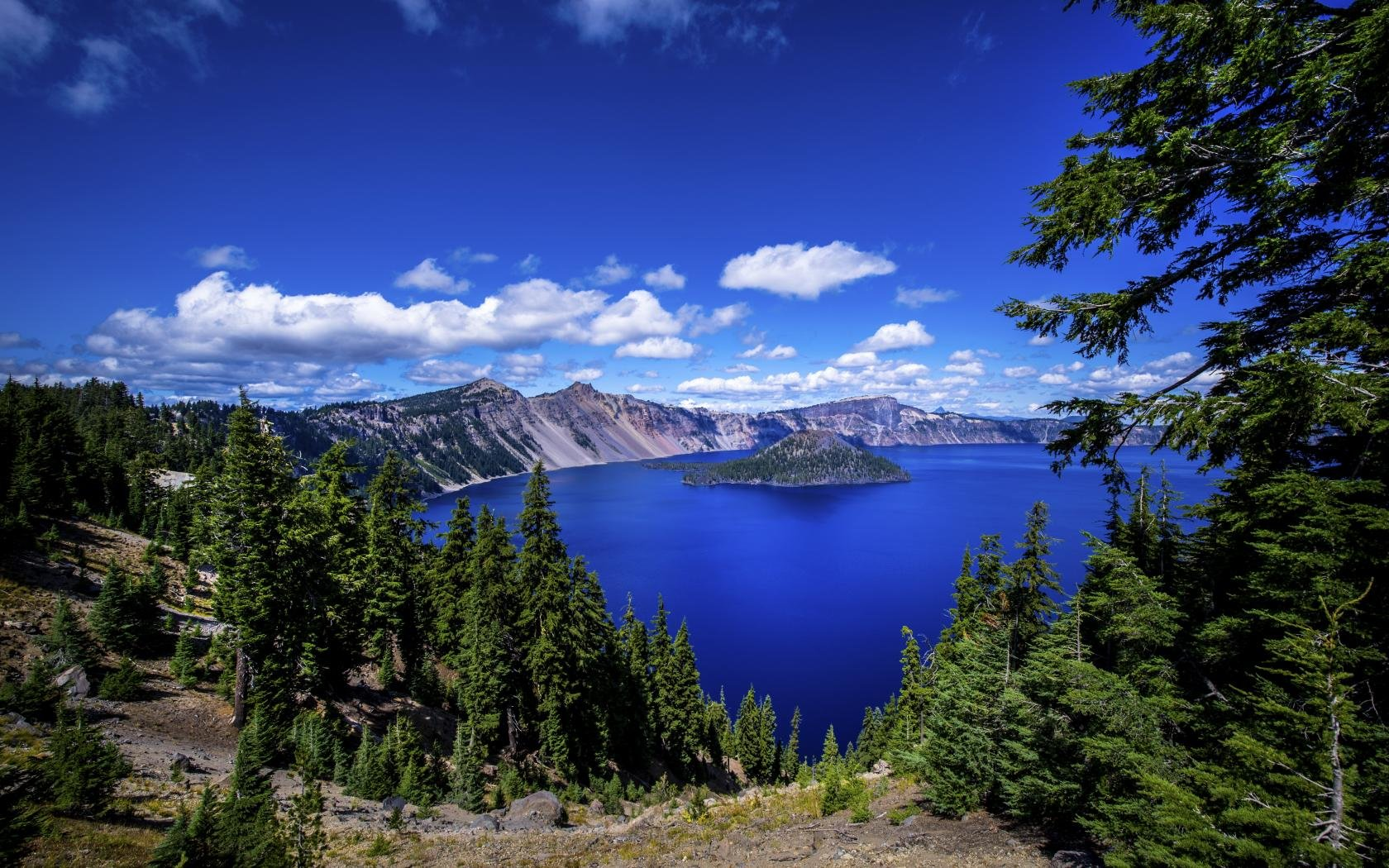 crater lake wallpapers hd for desktop backgrounds