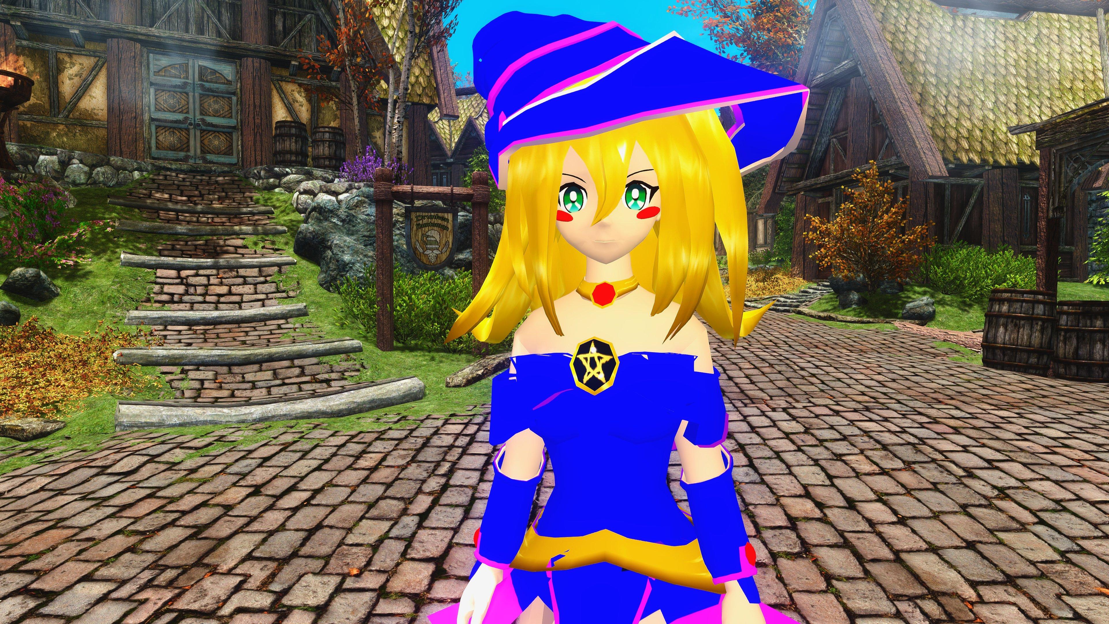 Dark Magician Girl Wallpapers 3840x2160 Ultra Hd 4k Desktop