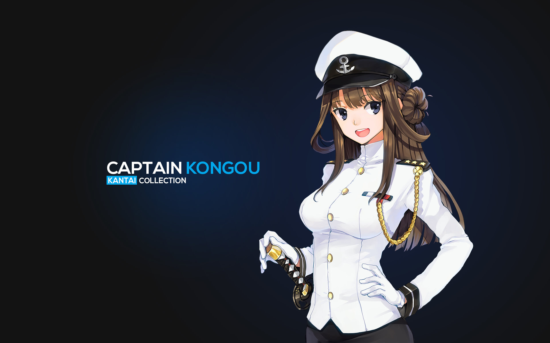 Free Kongou (Kancolle) high quality background ID:331225 for hd 1920x1200 computer