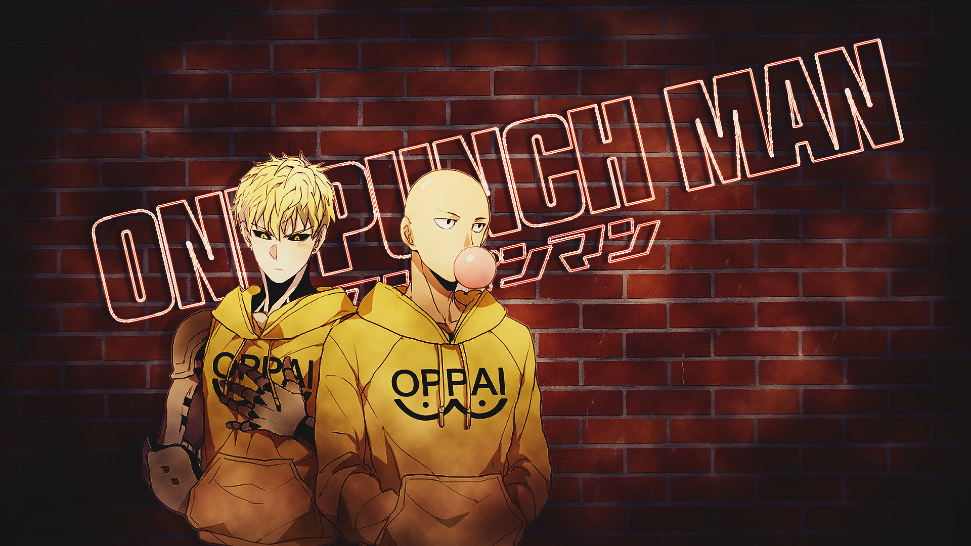 Download 1080p One-Punch Man desktop background ID:345428 for free