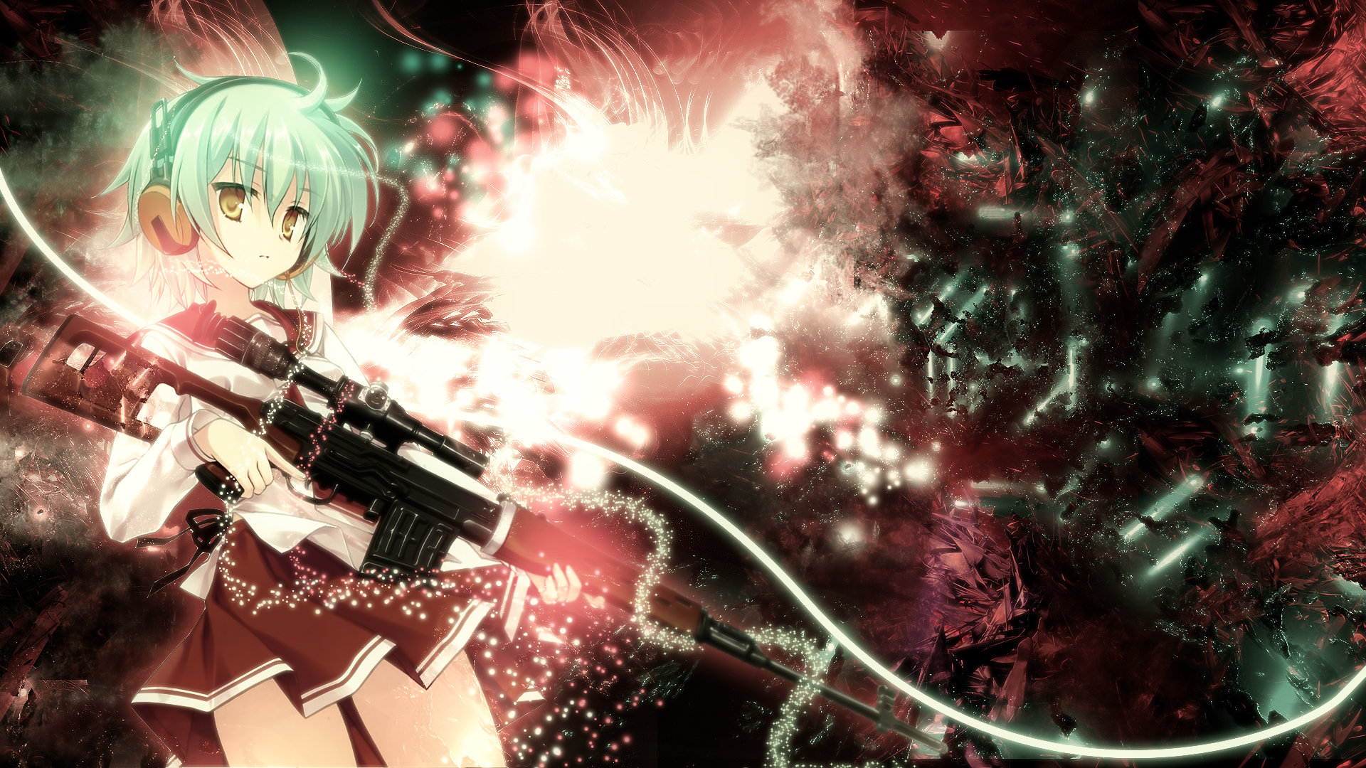 Awesome Aria The Scarlet Ammo free background ID:446922 for full hd PC