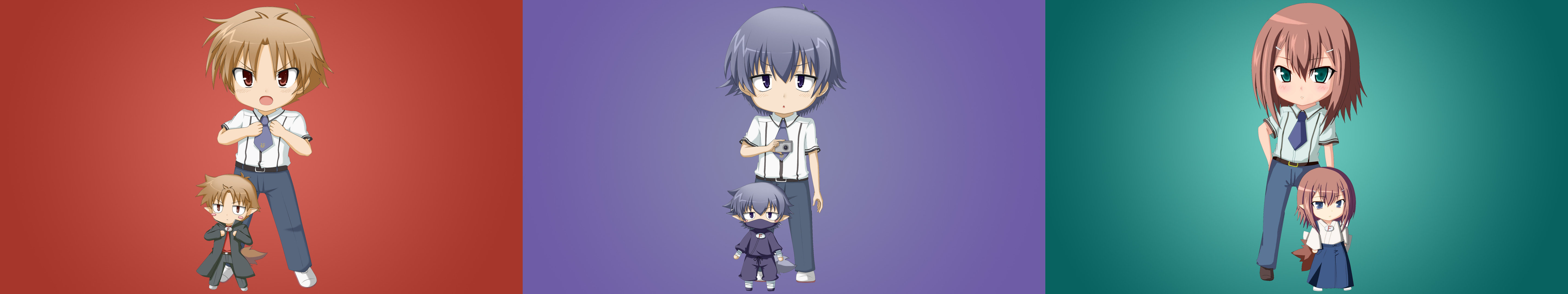 Free Baka And Test high quality background ID:183568 for triple screen 5760x1080 PC