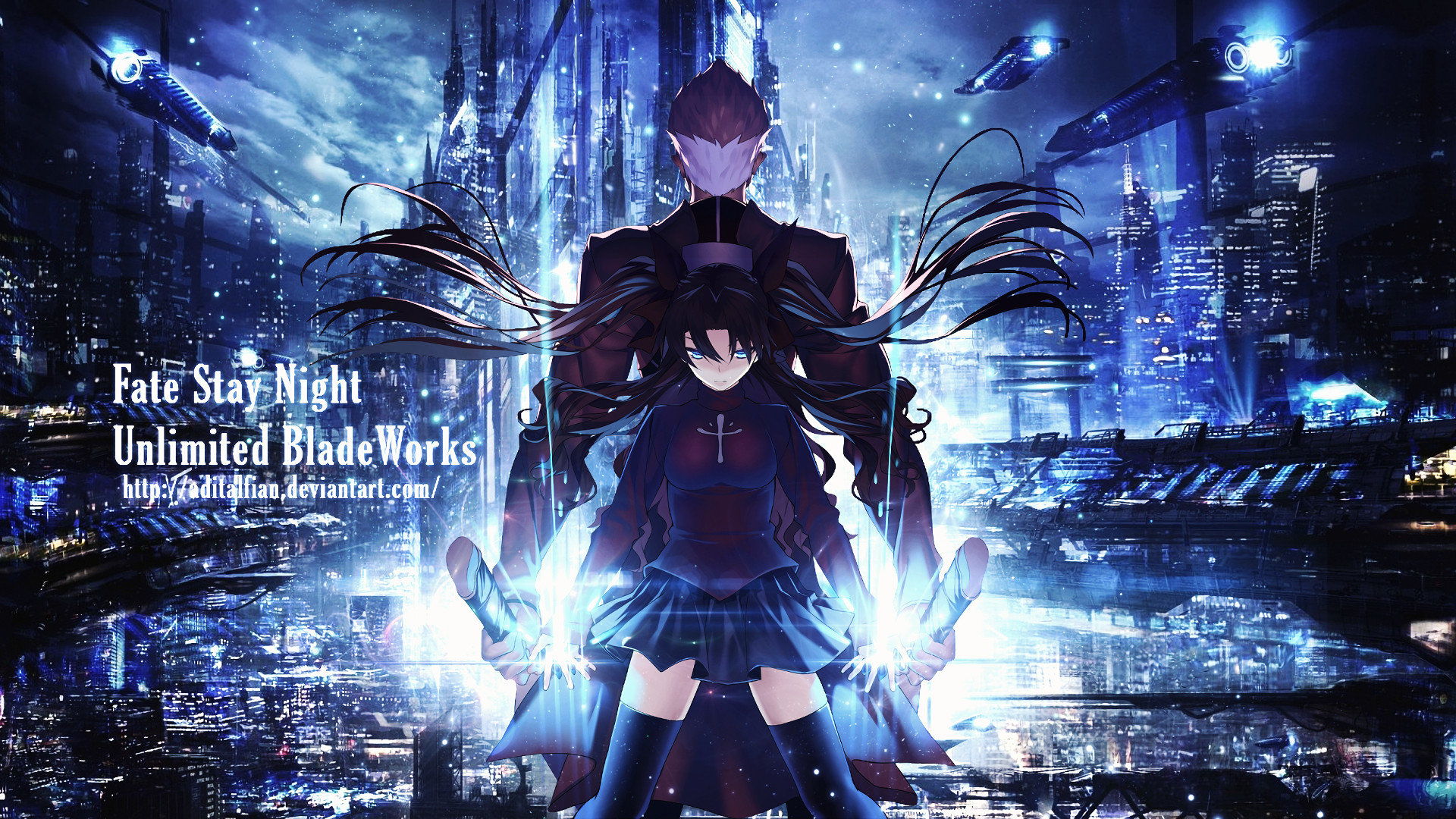 Download 1080p Fate Stay Night Unlimited Blade Works Computer