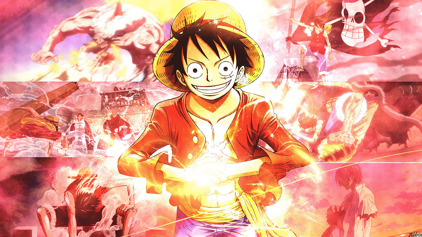 Awesome Monkey D. Luffy free background ID:314660 for hd 1600x900 computer
