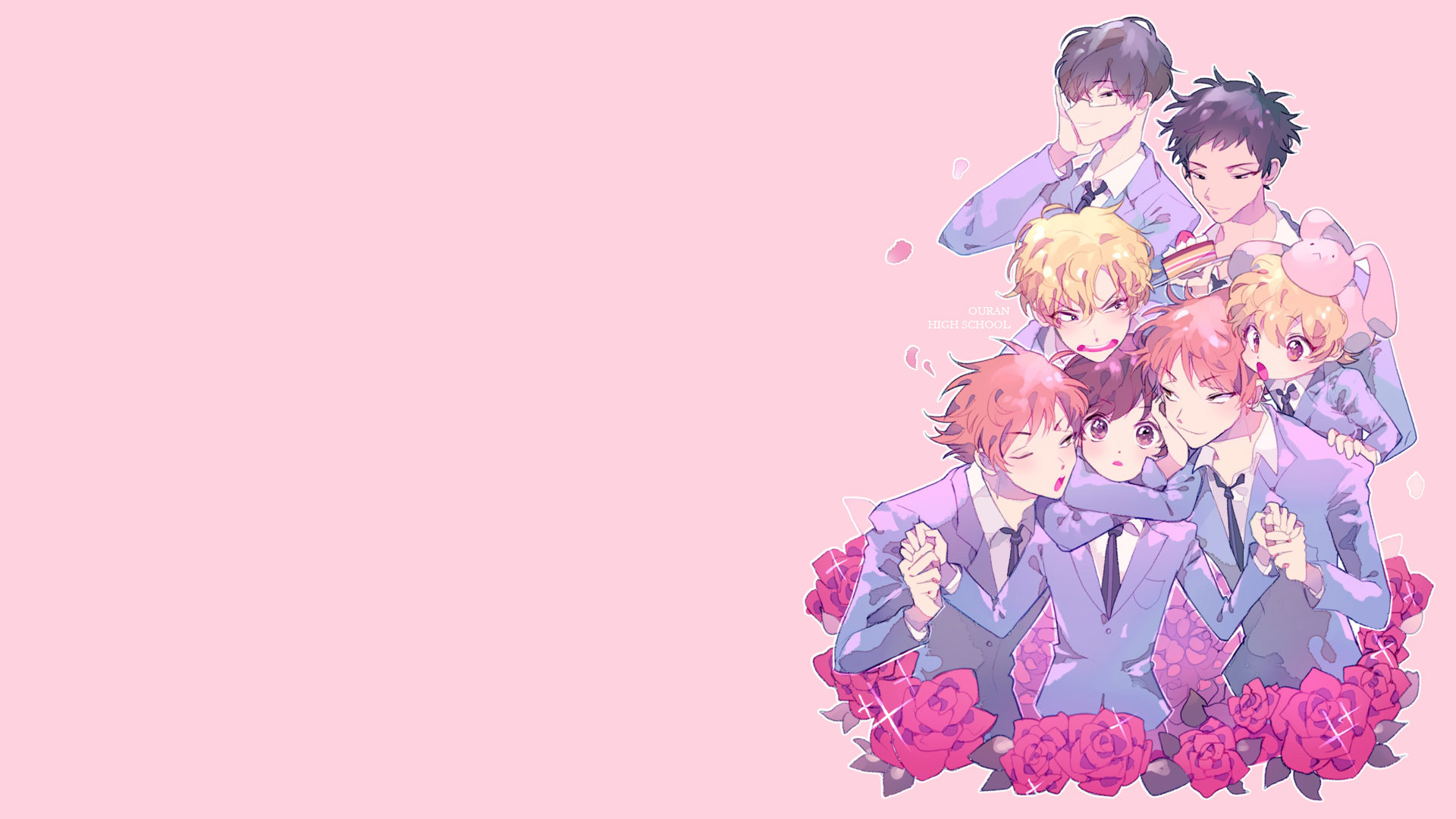 Free download Ouran Highschool Host Club background ID:162935 full hd for PC