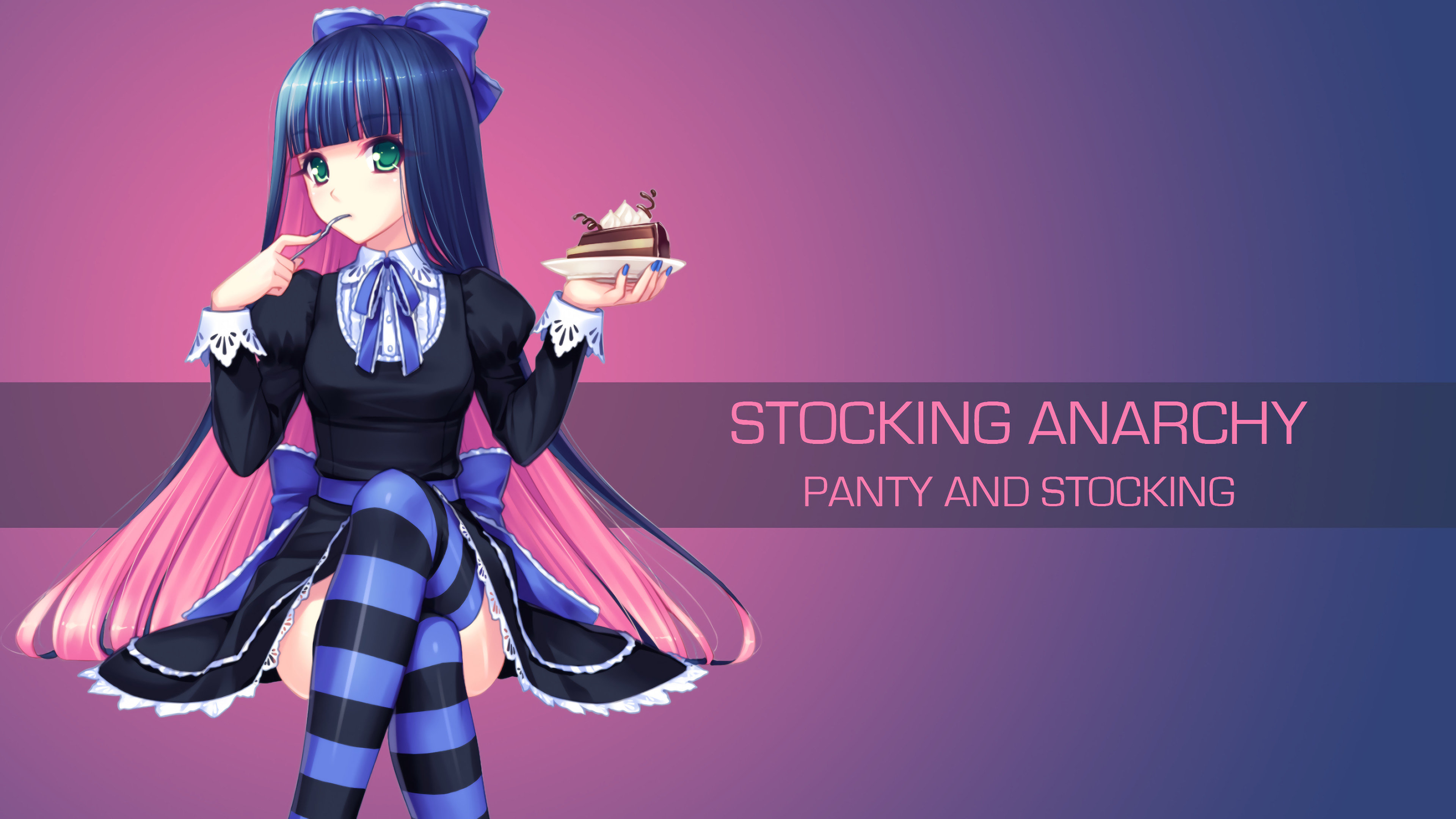 High resolution Panty and Stocking With Garterbelt hd 4k background ID:185107 for PC