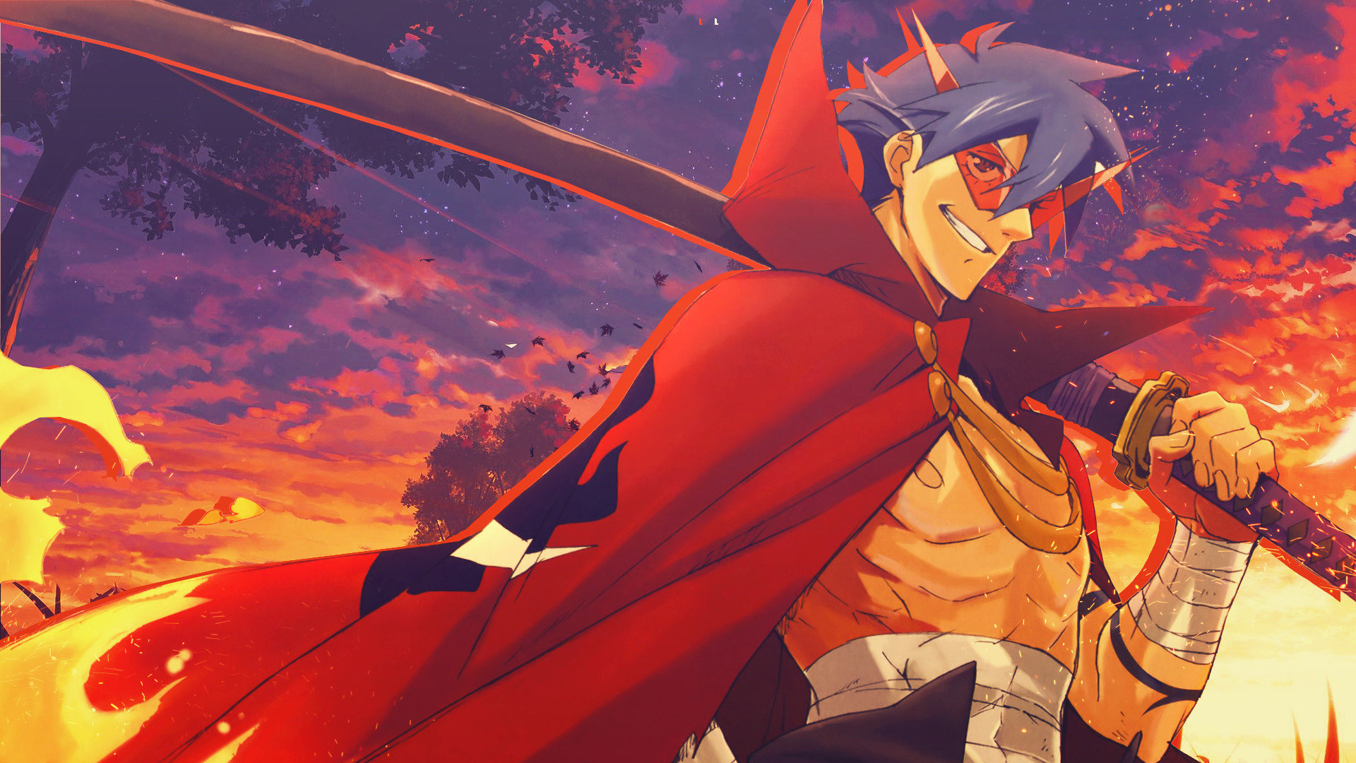 Tengen toppa gurren lagann wallpapers 1920x1080 full hd - Gurren lagann wallpaper ...