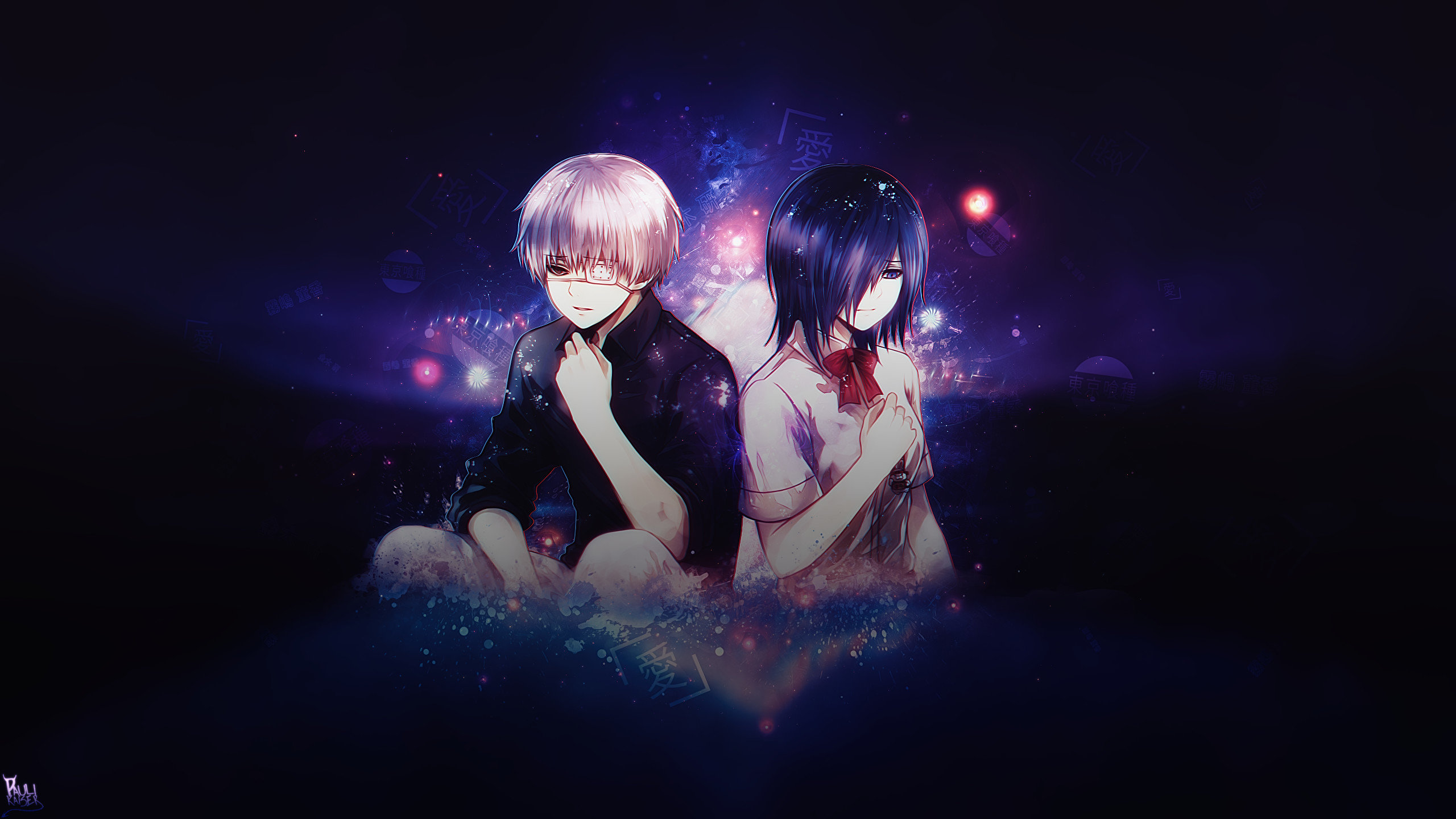 High resolution Tokyo Ghoul hd 2560x1440 wallpaper ID:150384 for PC