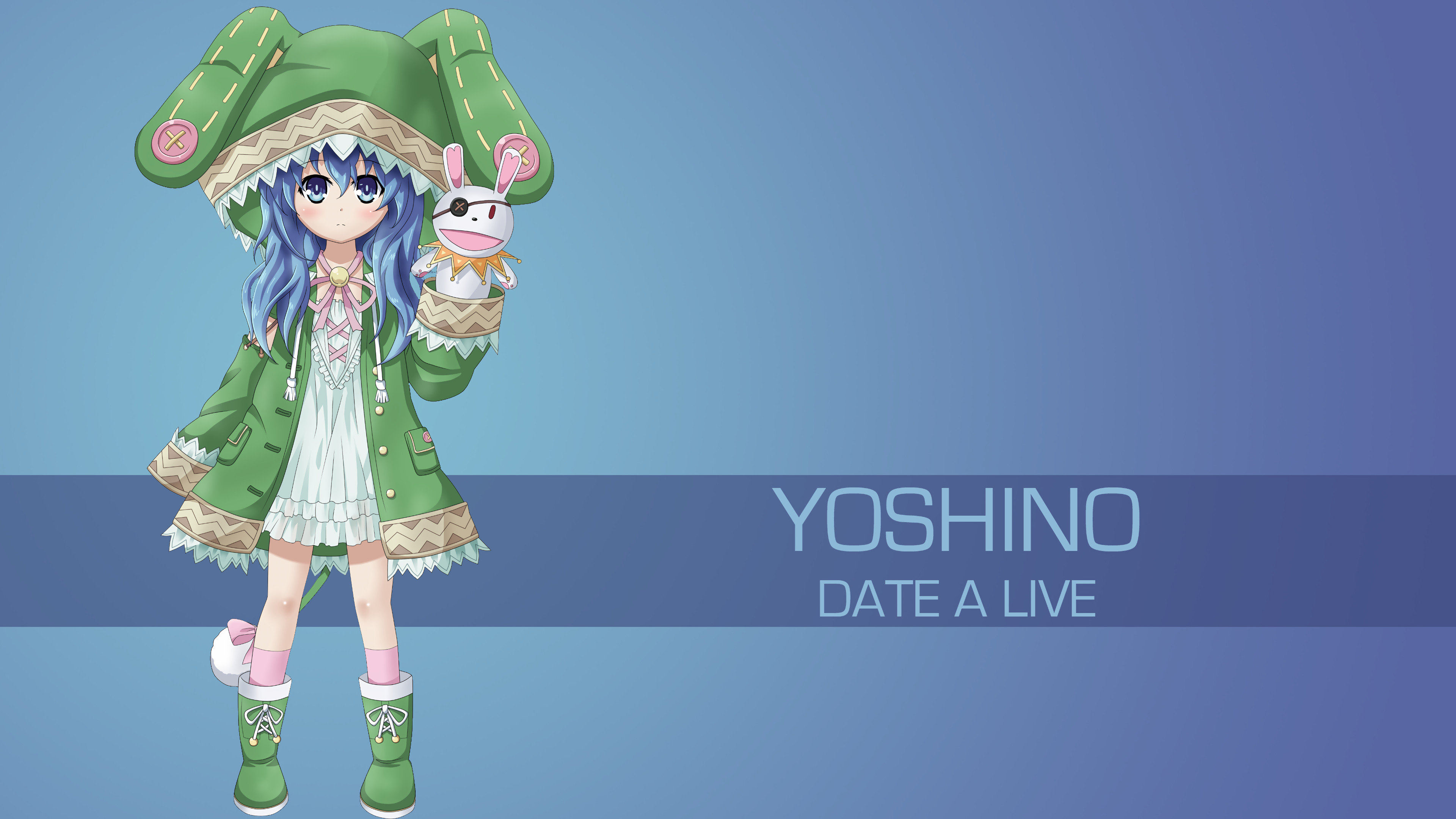 High resolution Yoshino (Date A Live) uhd 4k wallpaper ID:463749 for computer