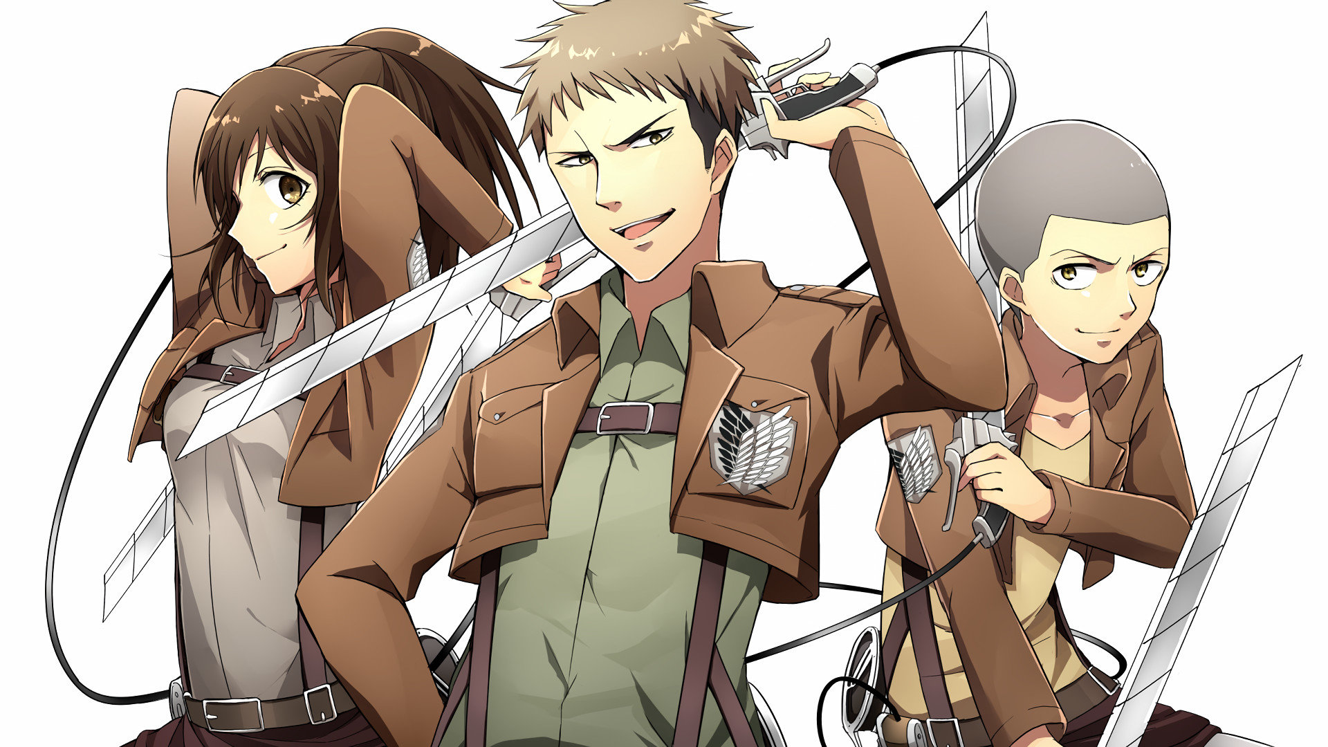 Awesome Attack On Titan free background ID:206343 for 1080p PC