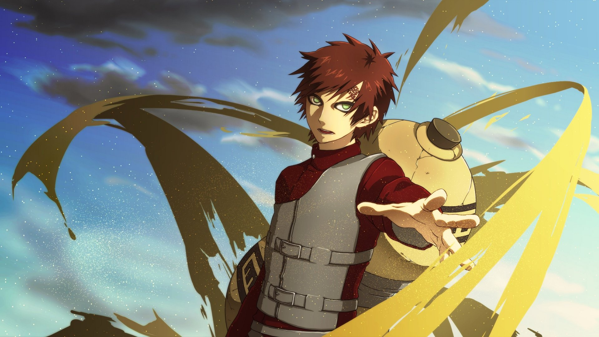 High resolution Gaara (Naruto) full hd background ID:395528 for PC
