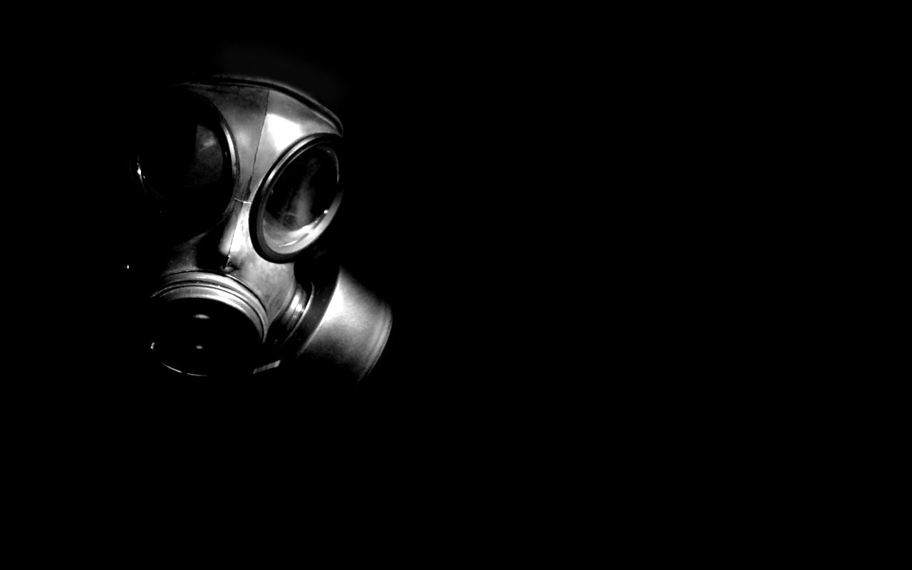 Download Hd 1280x800 Gas Mask Computer Wallpaper Id161619