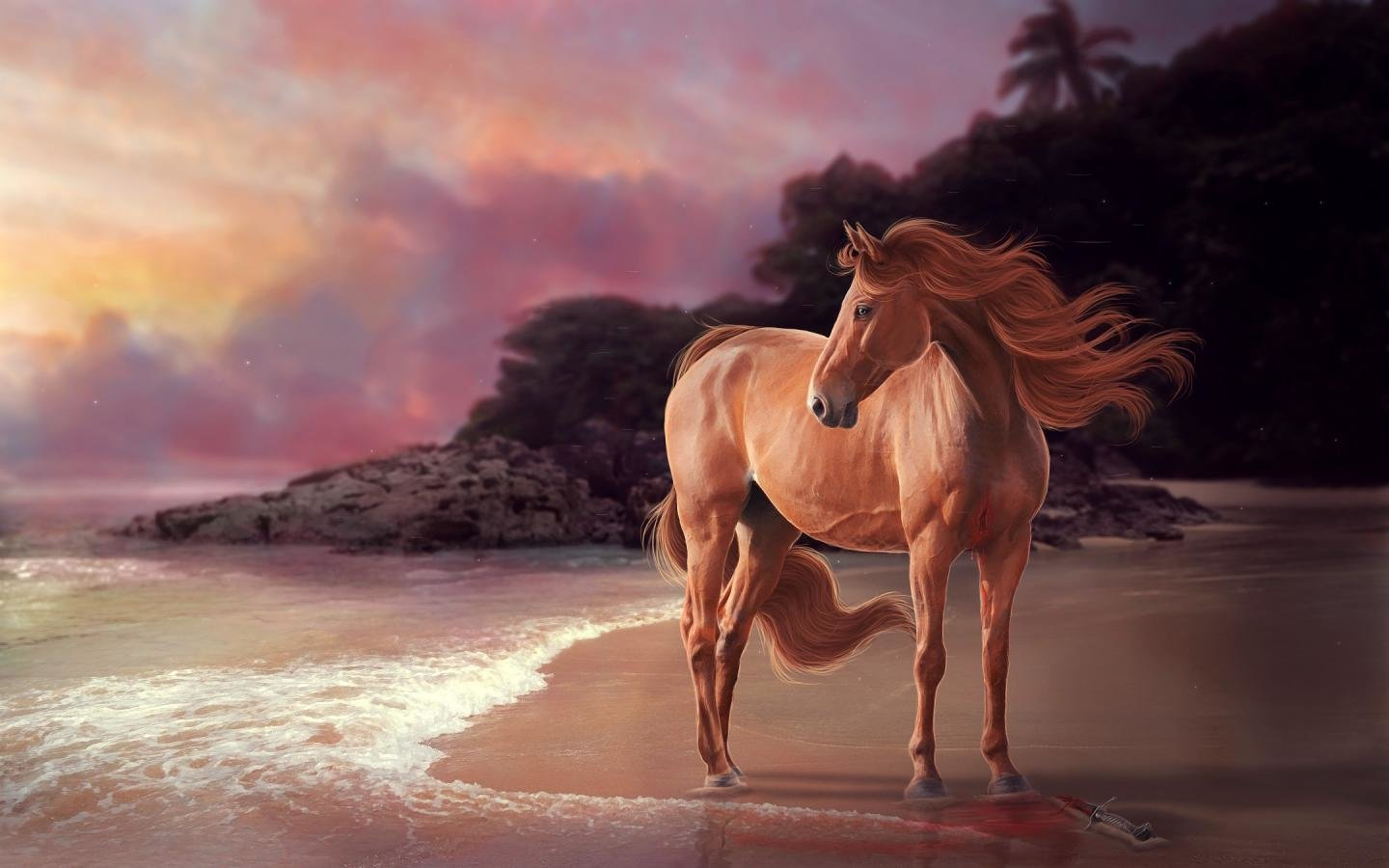 Awesome Horse free background ID:23447 for hd 1440x900 computer