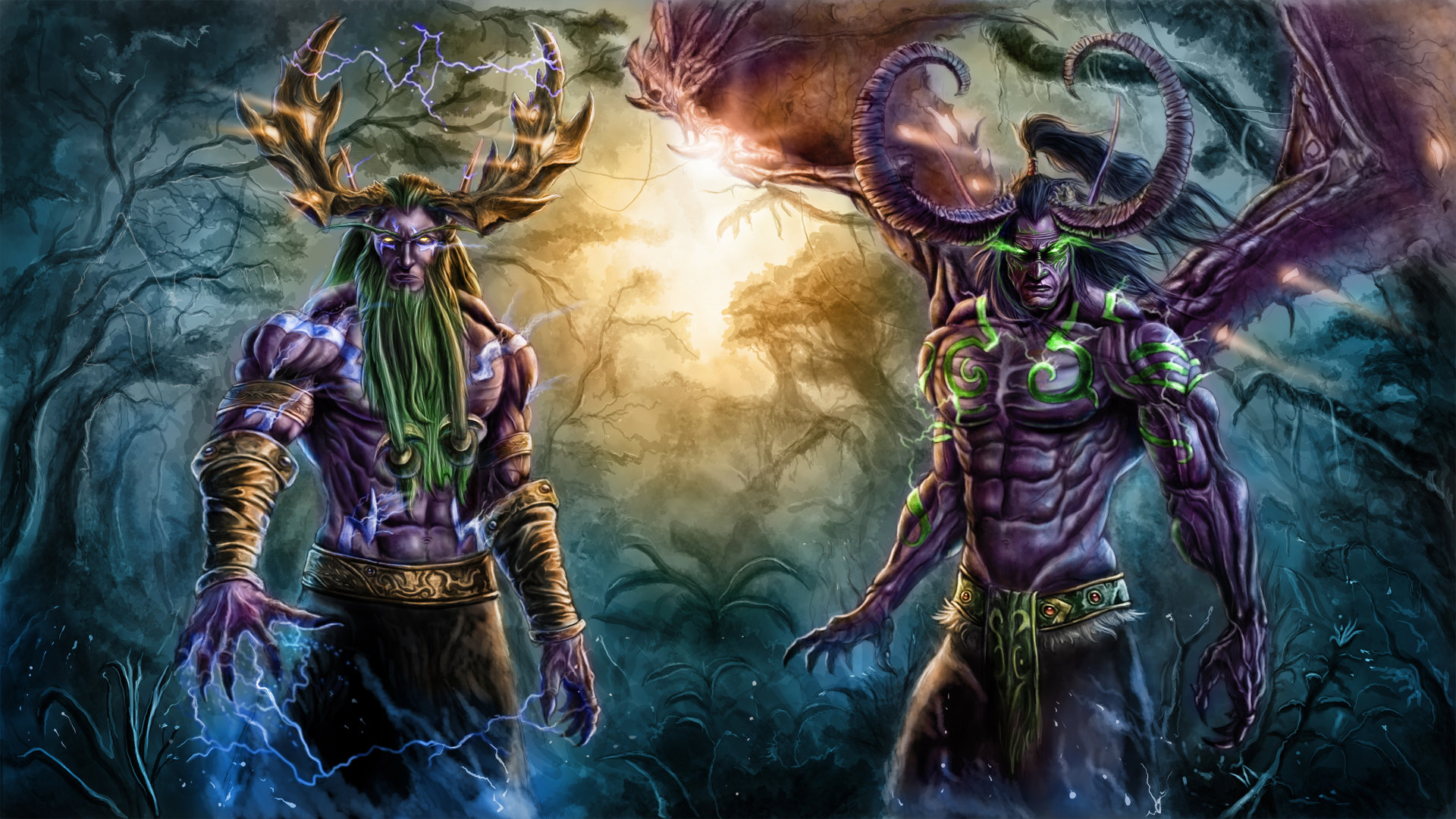 Best Illidan Stormrage background ID:245167 for High Resolution full hd 1080p desktop