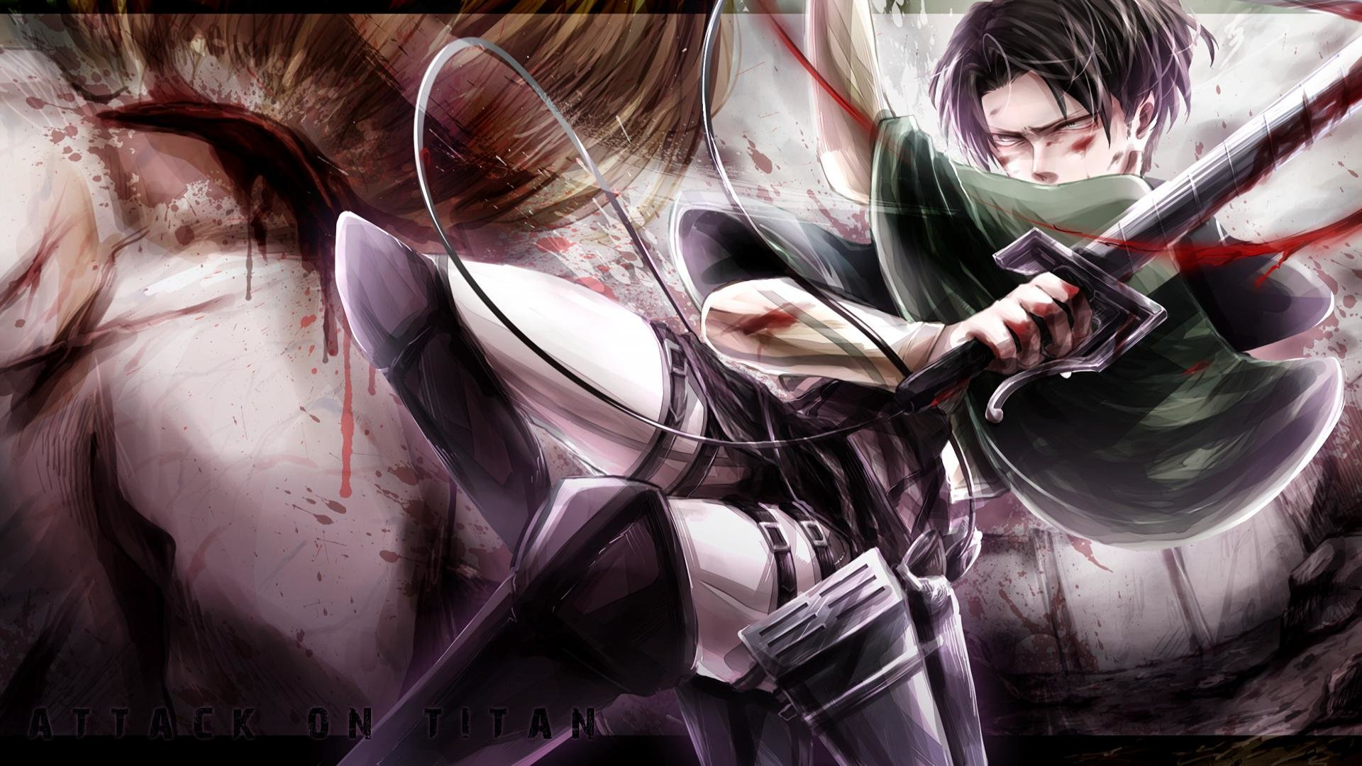 Awesome Levi Ackerman Free Wallpaper Id206245 For Full Hd Pc