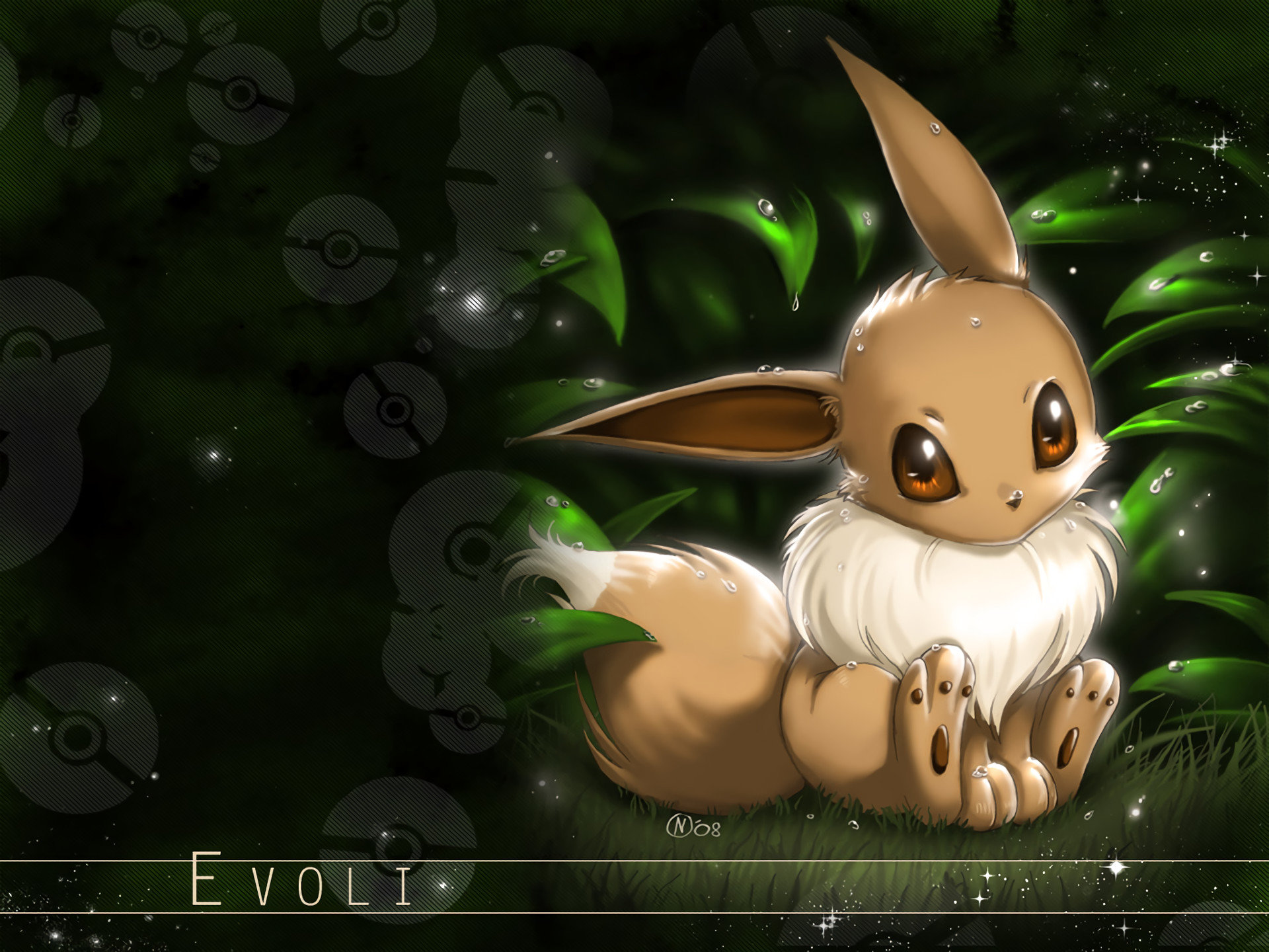 Awesome Eevee (Pokemon) free background ID:278905 for hd 1920x1440 desktop