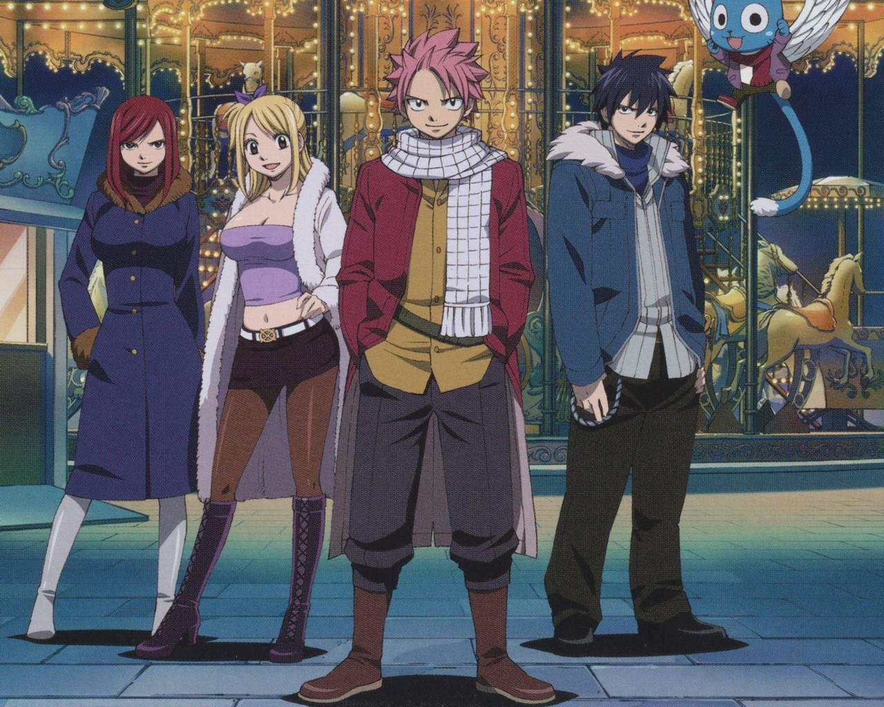 Download hd 1280x1024 Fairy Tail desktop wallpaper ID:41157 for free