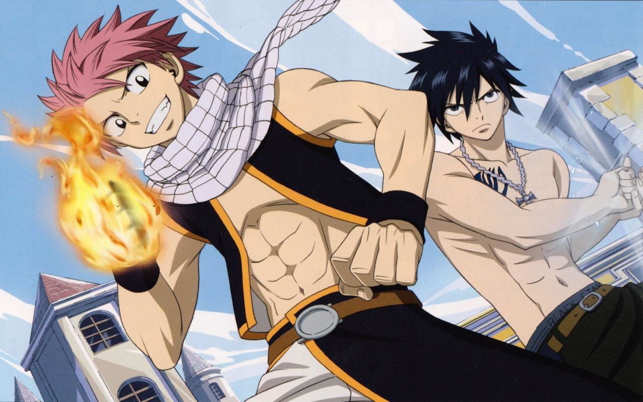 Awesome Fairy Tail free wallpaper ID:41342 for hd 1280x800 desktop
