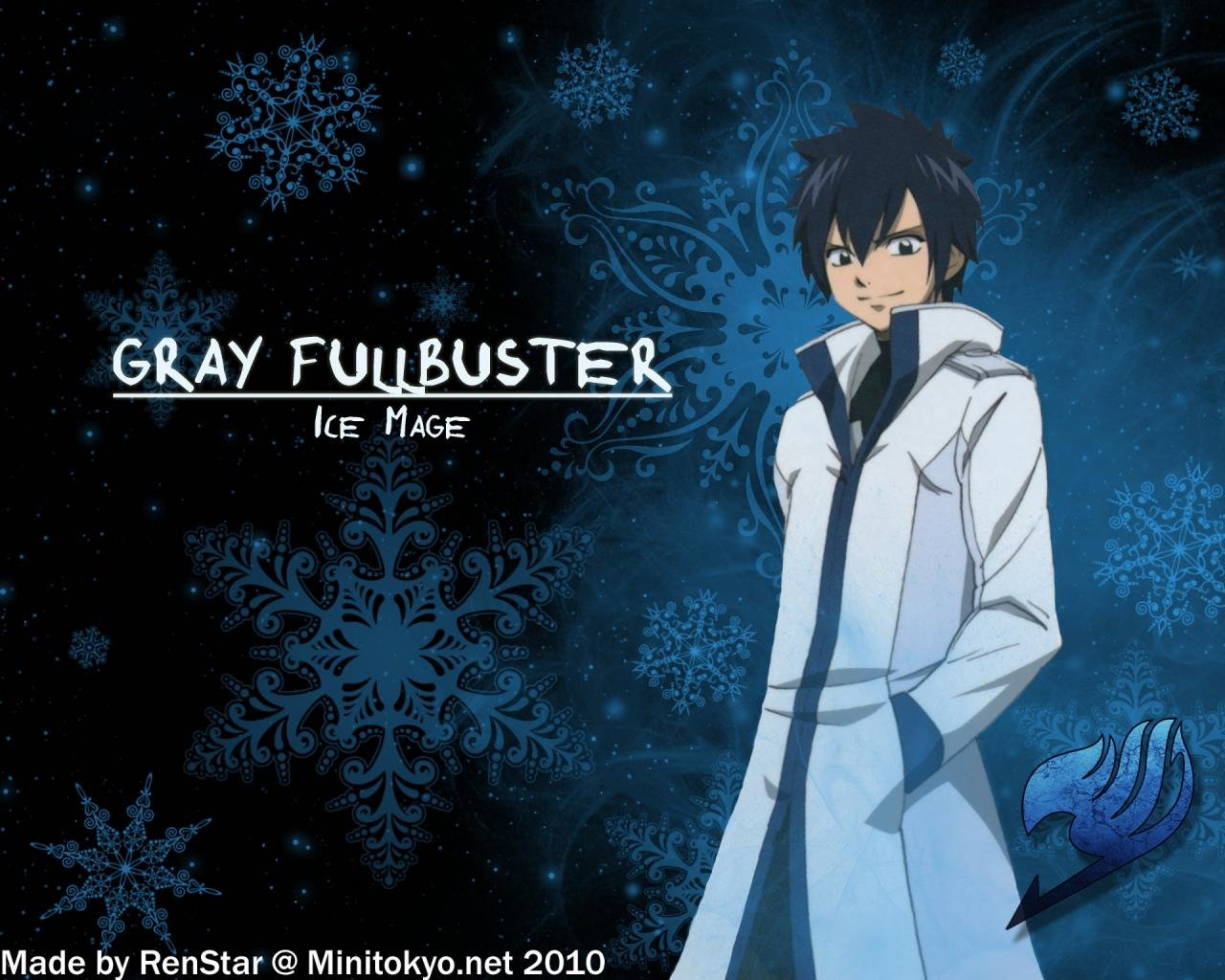 High resolution Gray Fullbuster hd 1280x1024 wallpaper ID:41366 for computer