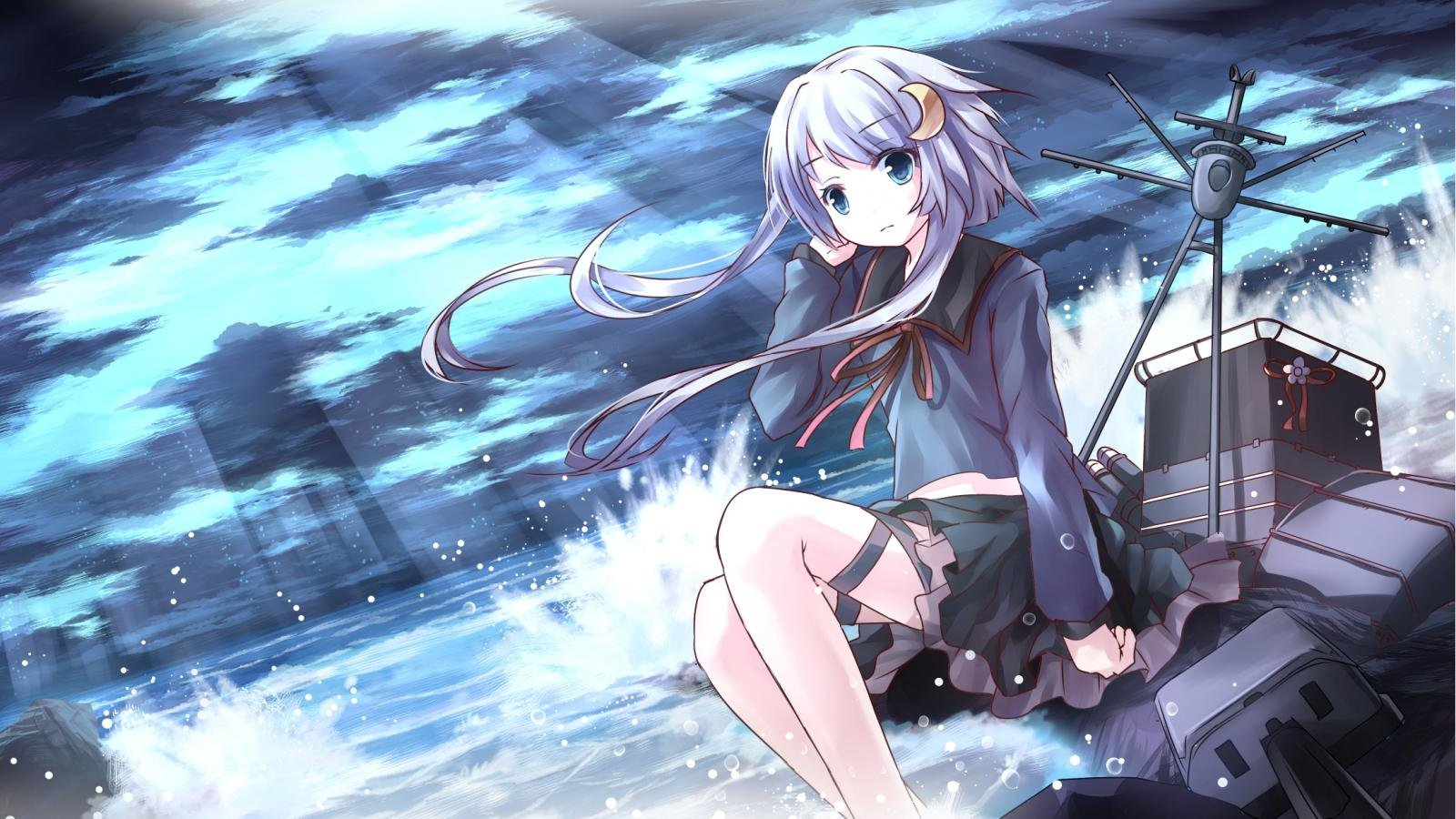 Free download Kantai Collection background ID:330998 hd 1600x900 for PC