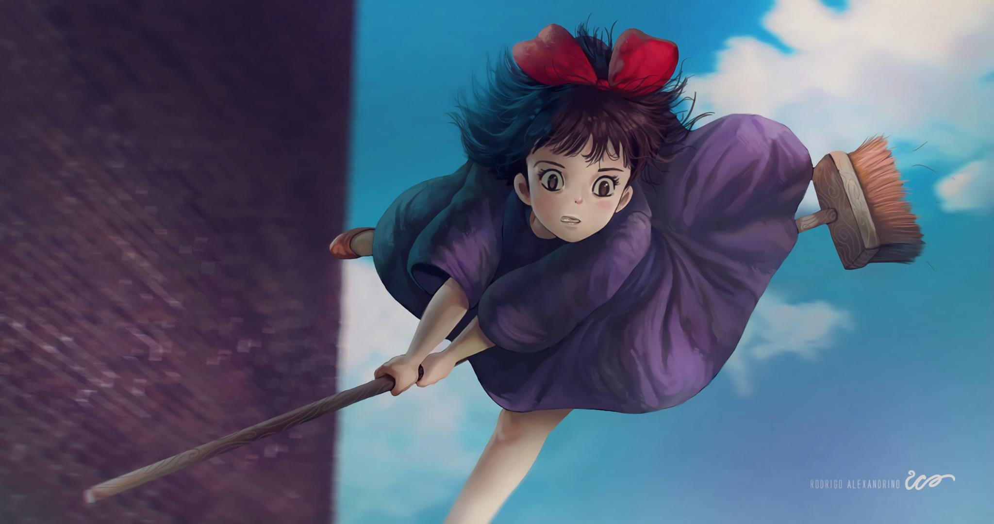 Free Kiki's Delivery Service high quality wallpaper ID:360364 for hd 2048x1080 PC