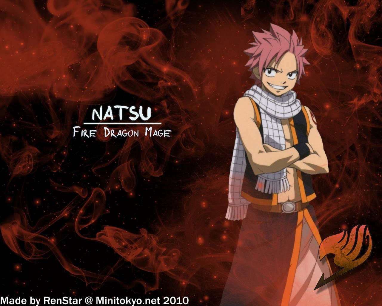 High resolution Natsu Dragneel hd 1280x1024 wallpaper ID:41365 for PC