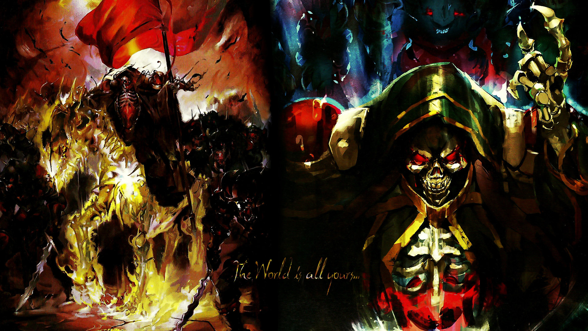 Best Overlord background ID:275960 for High Resolution hd 1080p PC