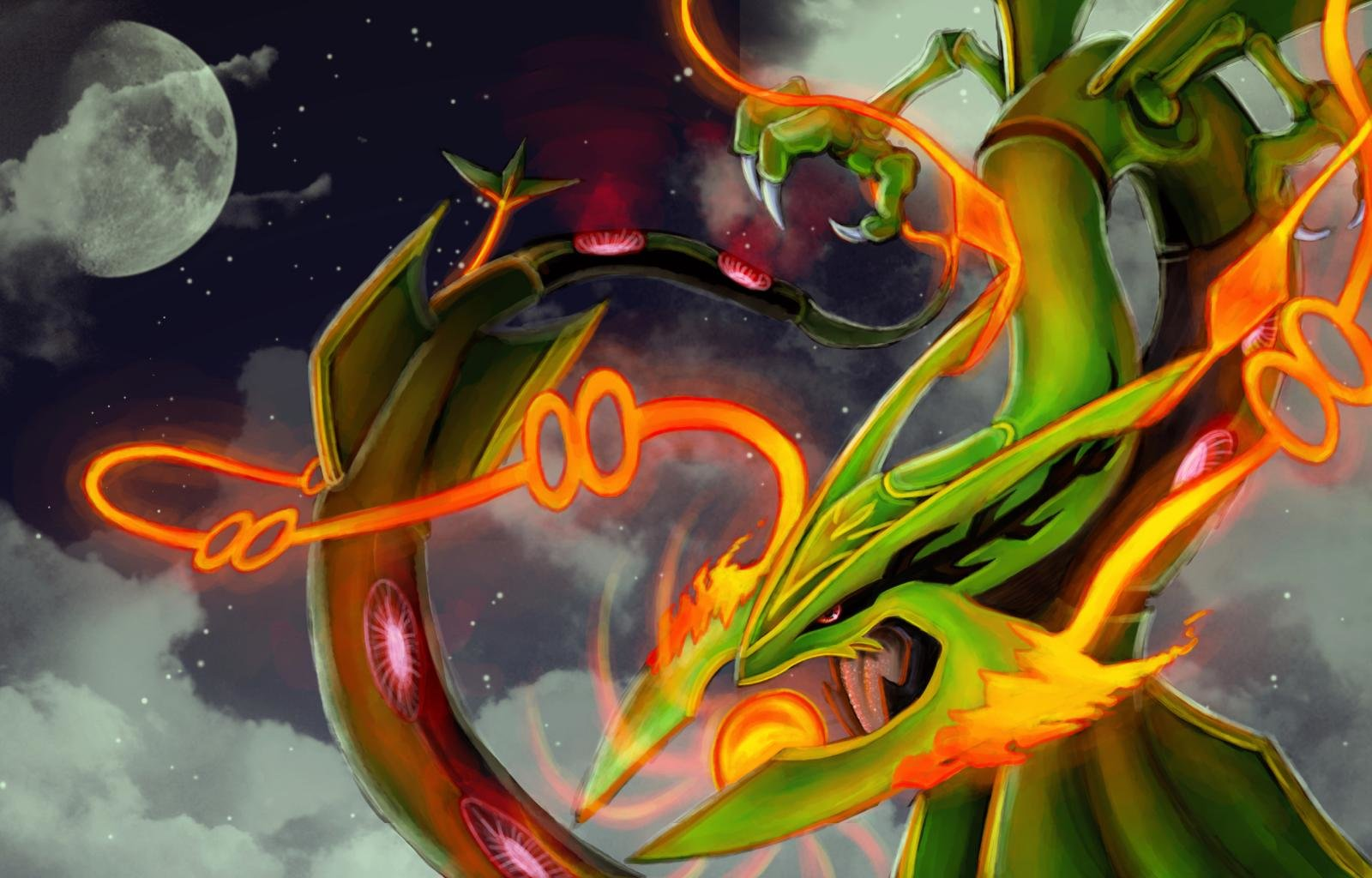 Free download Rayquaza (Pokemon) background ID:279349 hd 1600x1024 for desktop