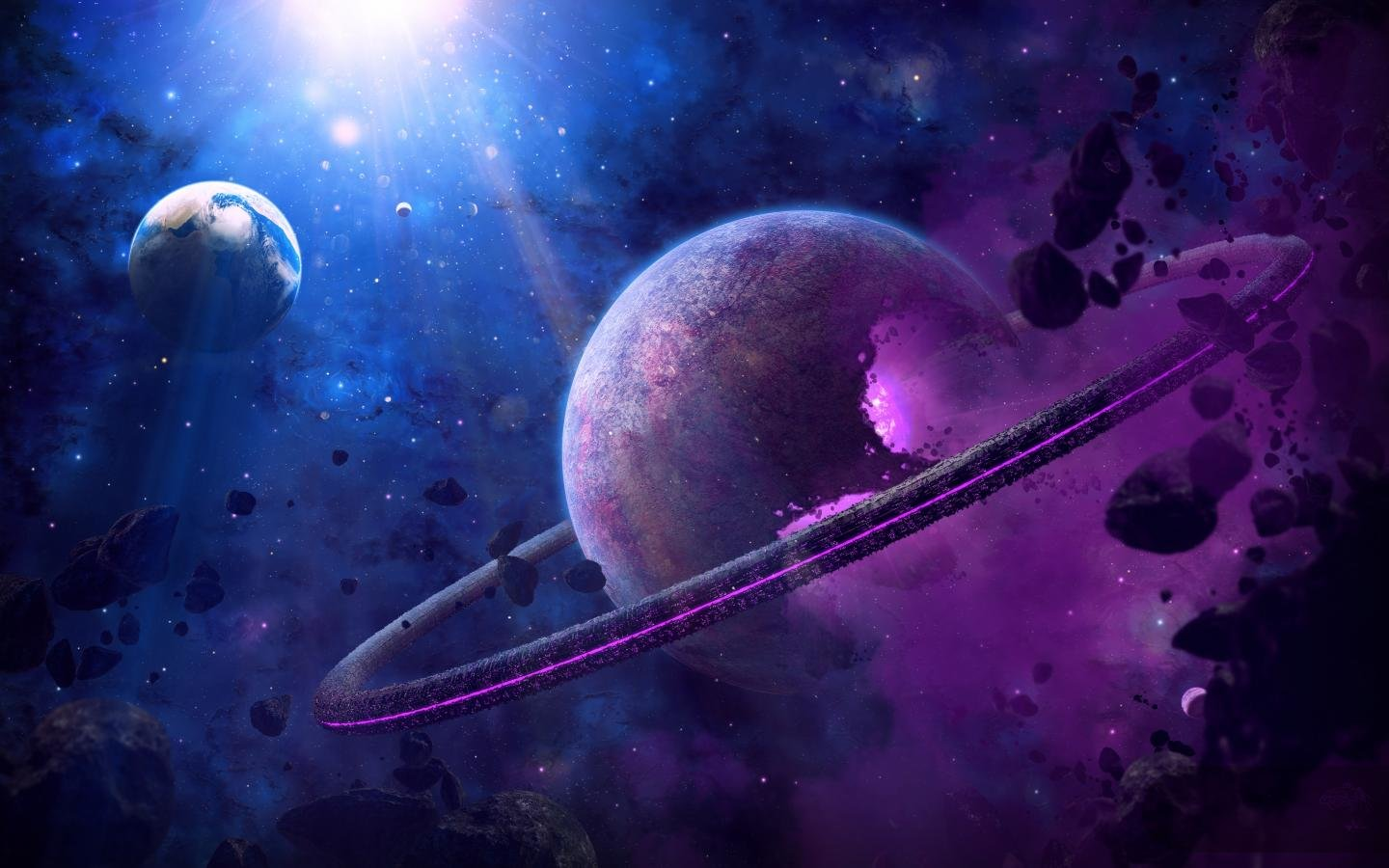 Space wallpapers 1440x900 desktop backgrounds - Cool space wallpapers ...