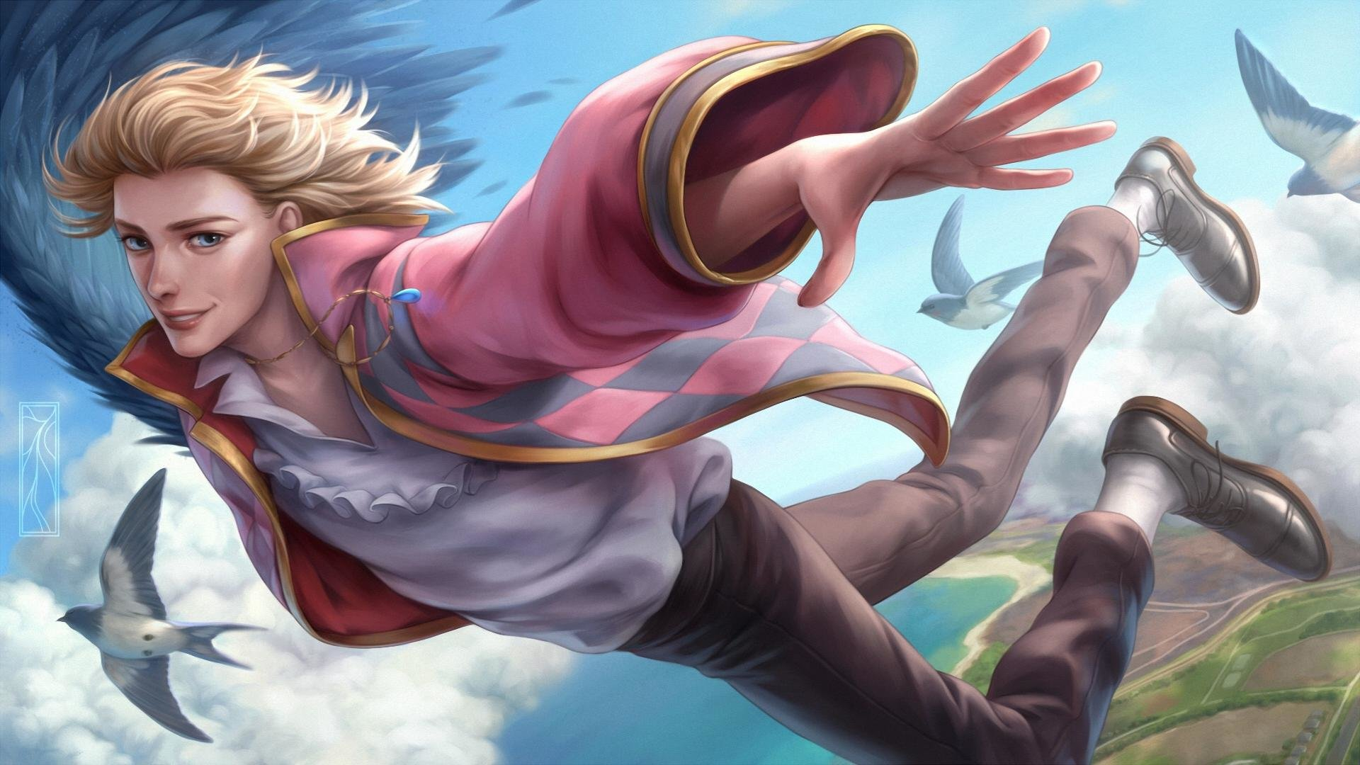 Awesome Howl's Moving Castle free wallpaper ID:347899 for 1080p desktop