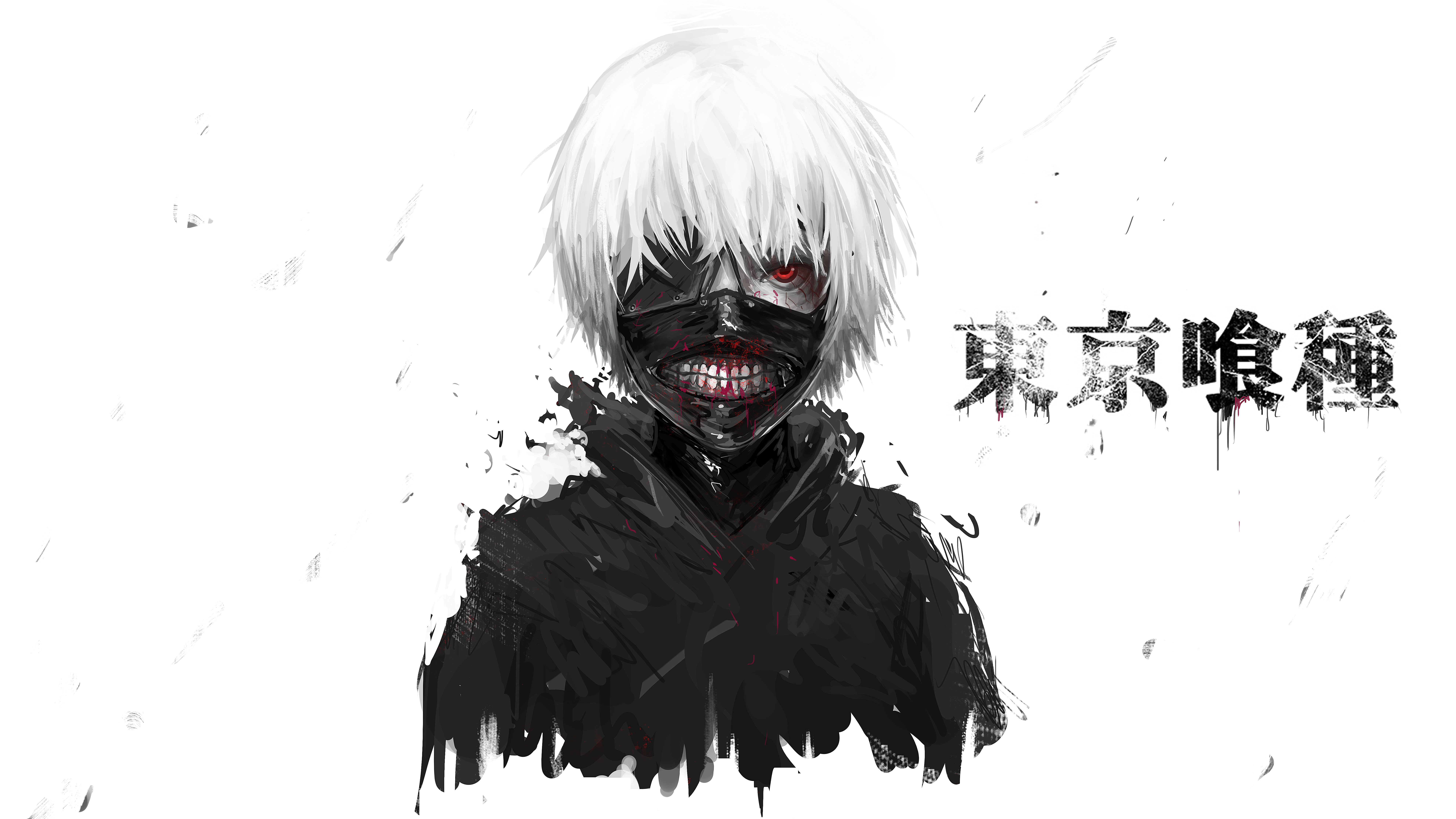 Download uhd 8k Ken Kaneki desktop wallpaper ID:150442 for free