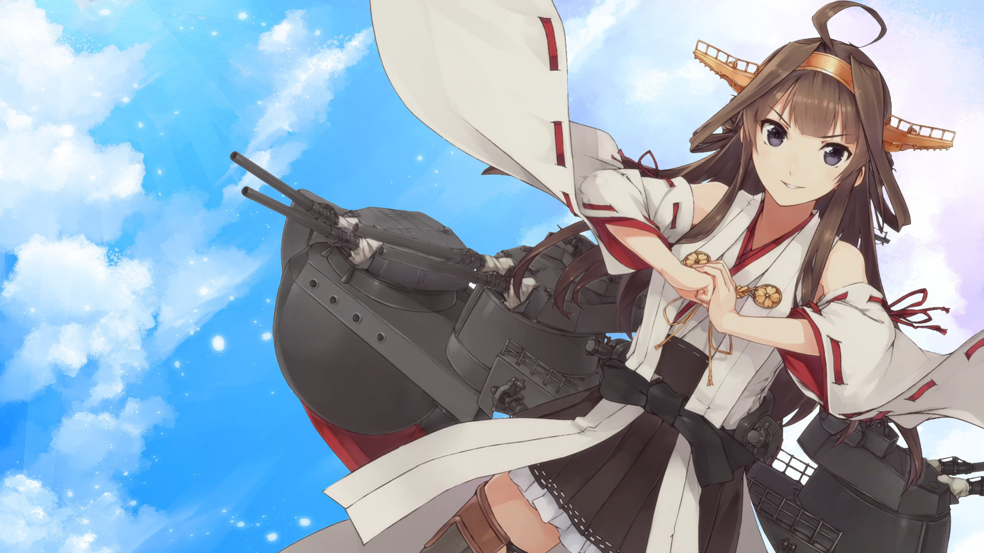 Awesome Kongou (Kancolle) free wallpaper ID:330898 for hd 1920x1080 PC