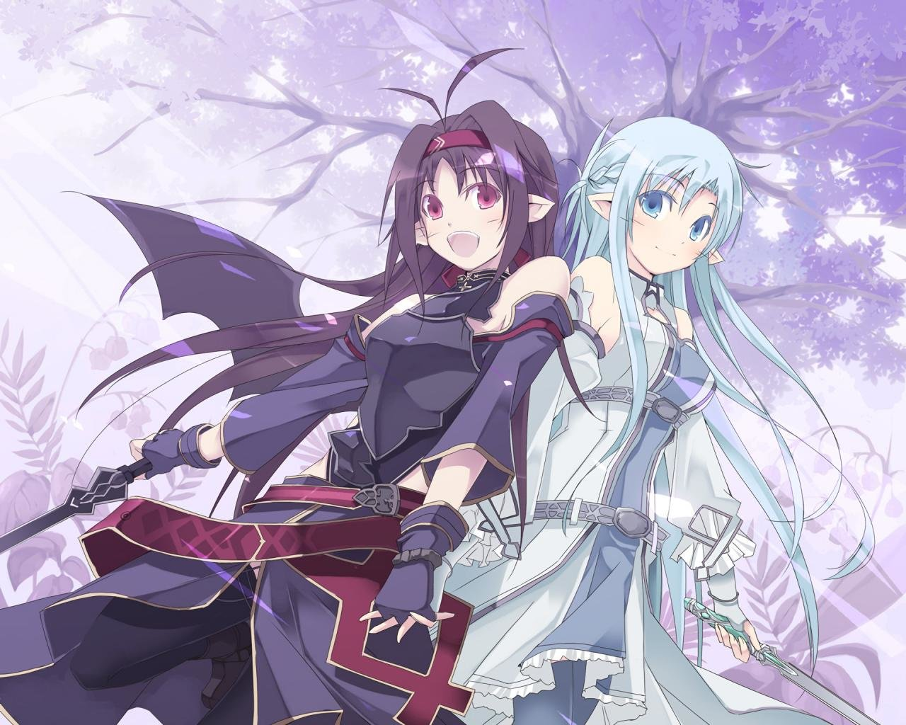 Awesome Sword Art Online 2 (II) free background ID:112460 for hd 1280x1024 desktop